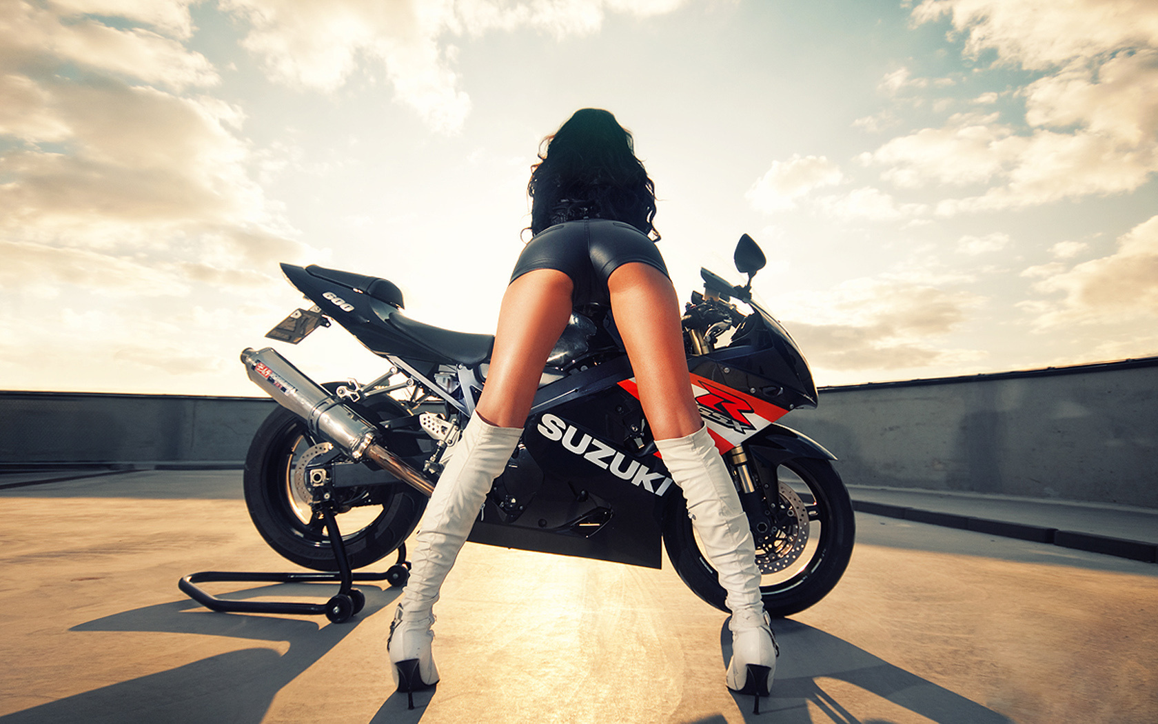 Perfect ass on bike seat sorry