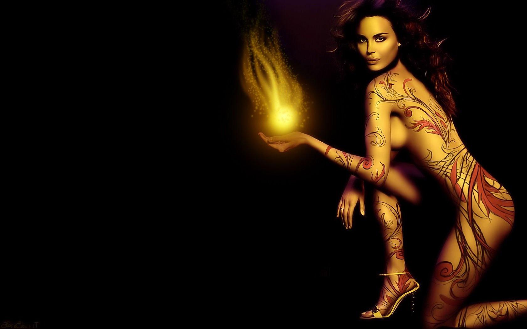 Фэнтези голые женщины 16 фотография