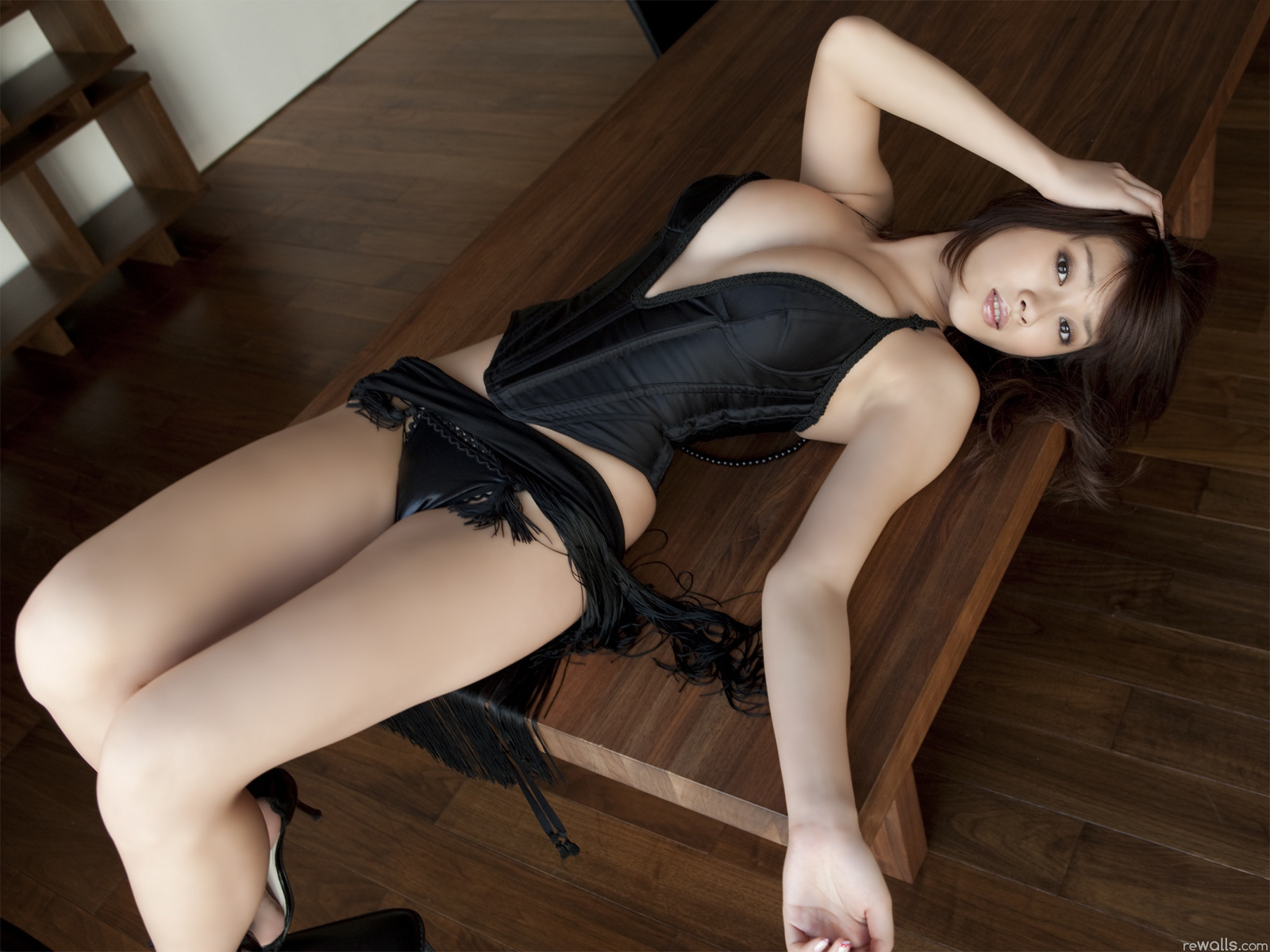 Beautiful Asian model Marica Hase casts her sexy lingerie aside to pose naked № 1461679 бесплатно
