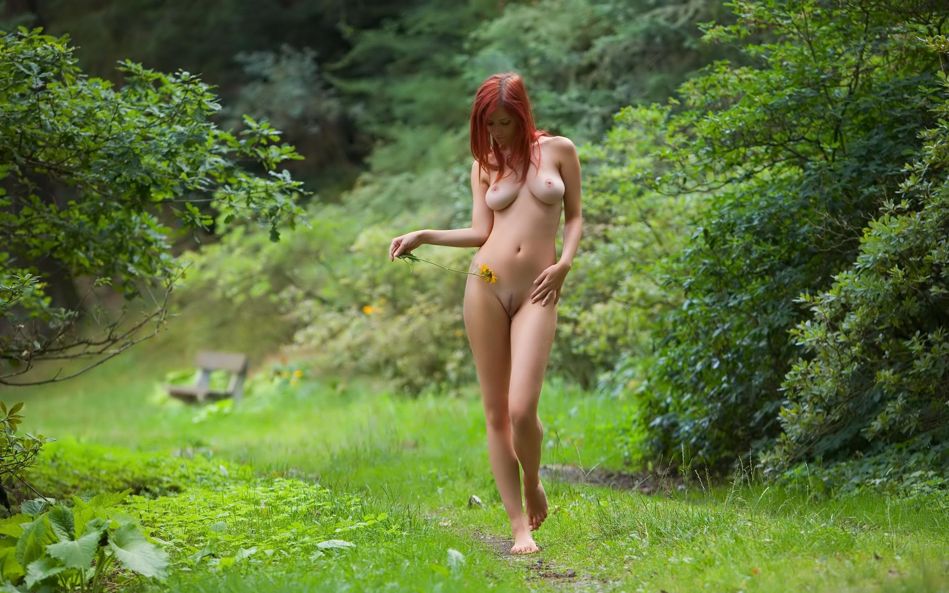 College girls nude outside