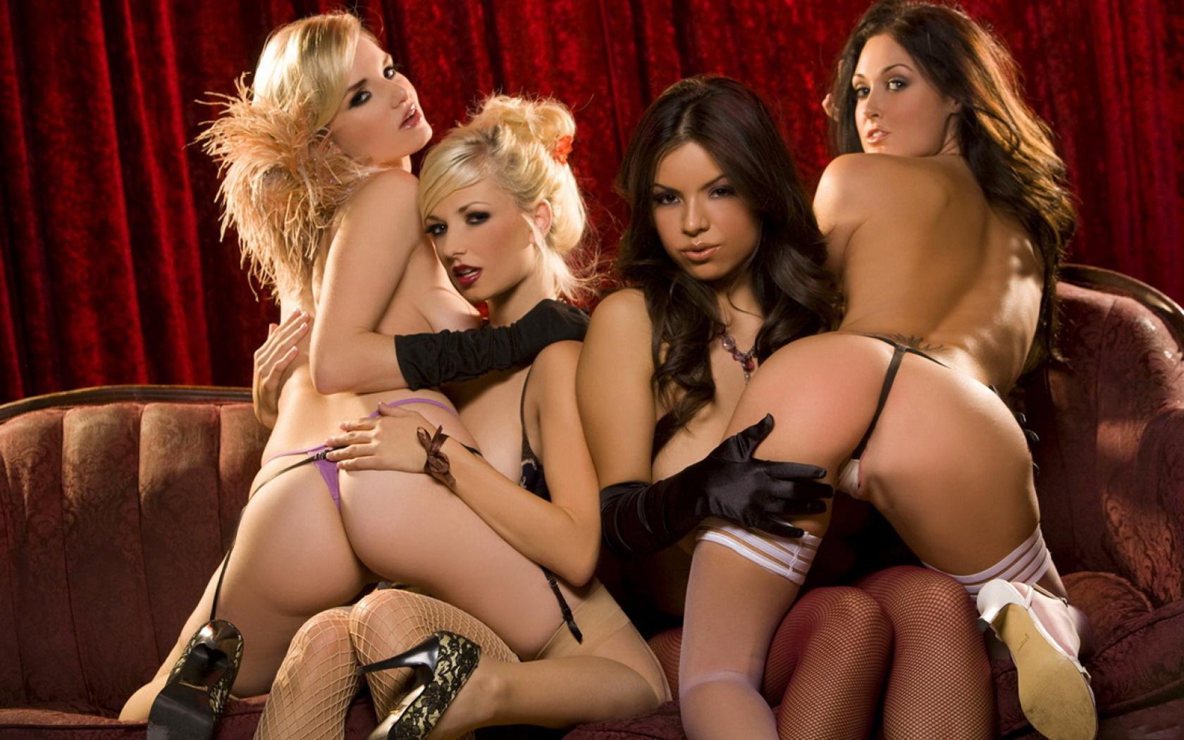 Wallpaper Nude, Titts, Pussy, Danielle Trixie, Liz Ashley -7126