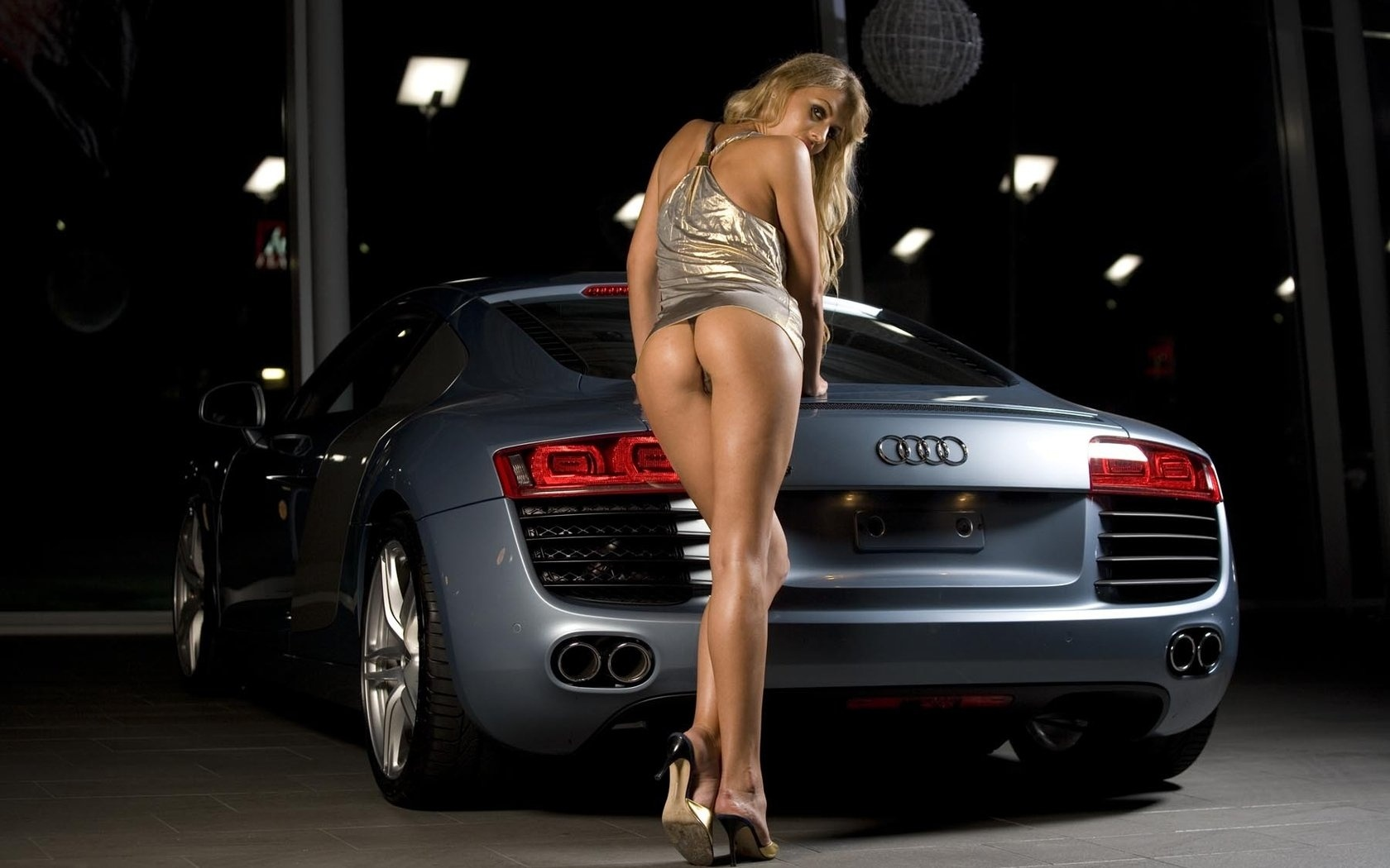 Hot cars and naked women
