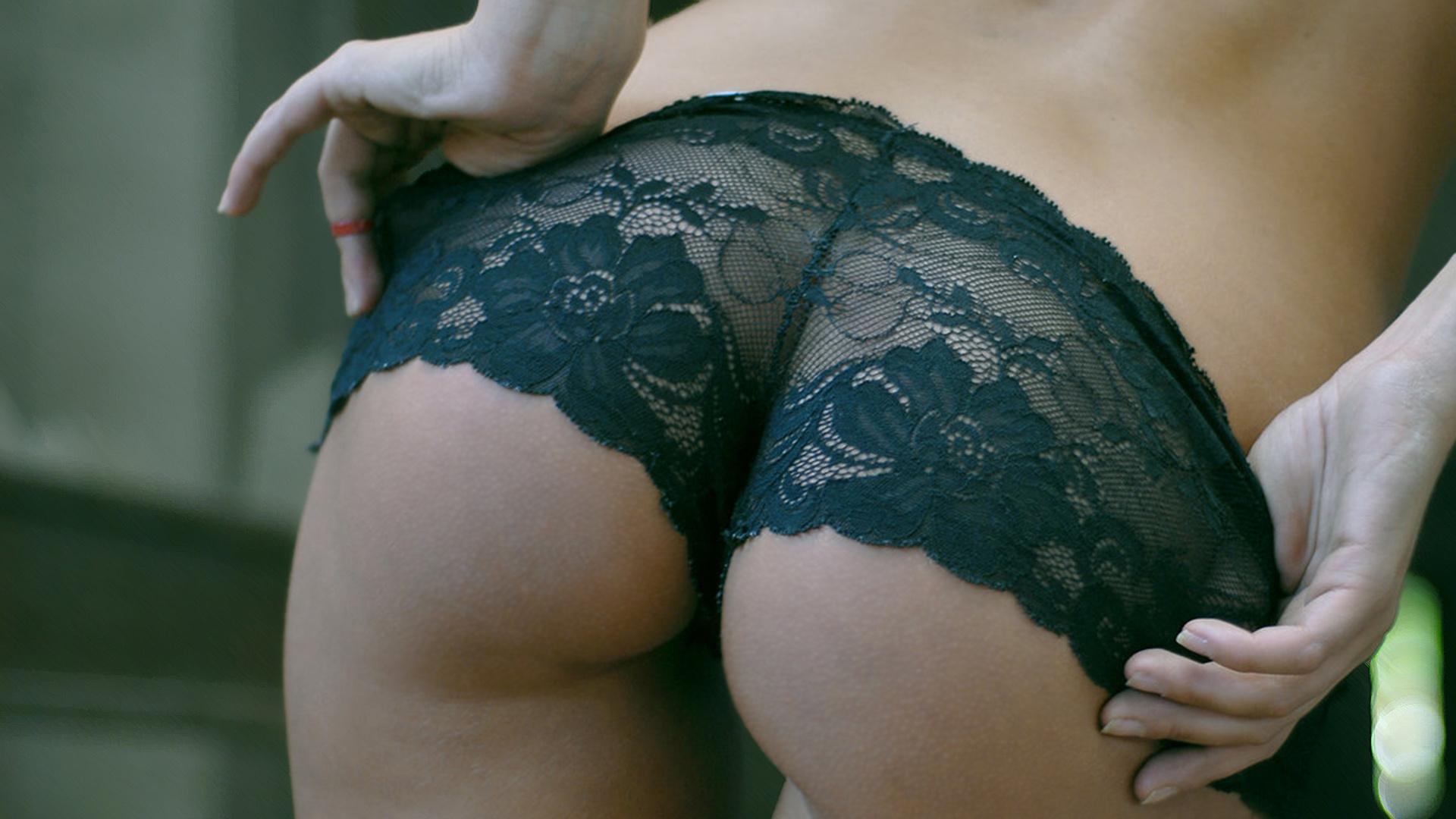 Самые обычные женские жопы 14 фотография