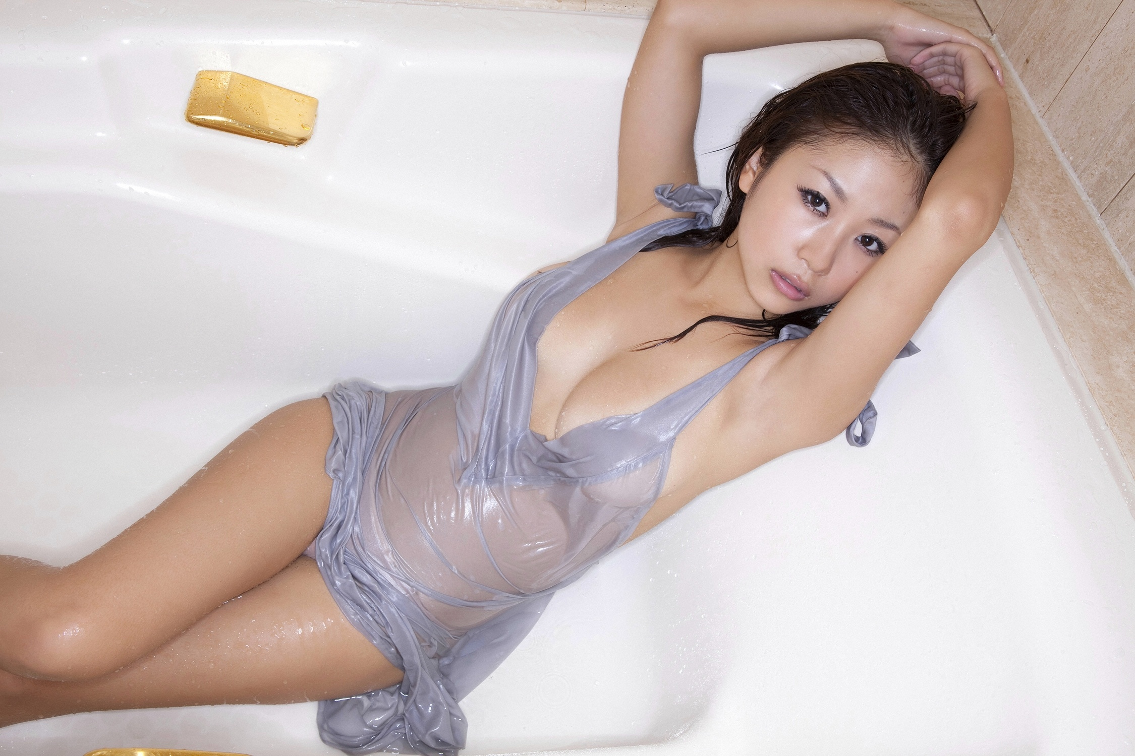 Wallpaper Asian, Lingerie, Wet, Hot, Sexy, Teen, Mai -9128