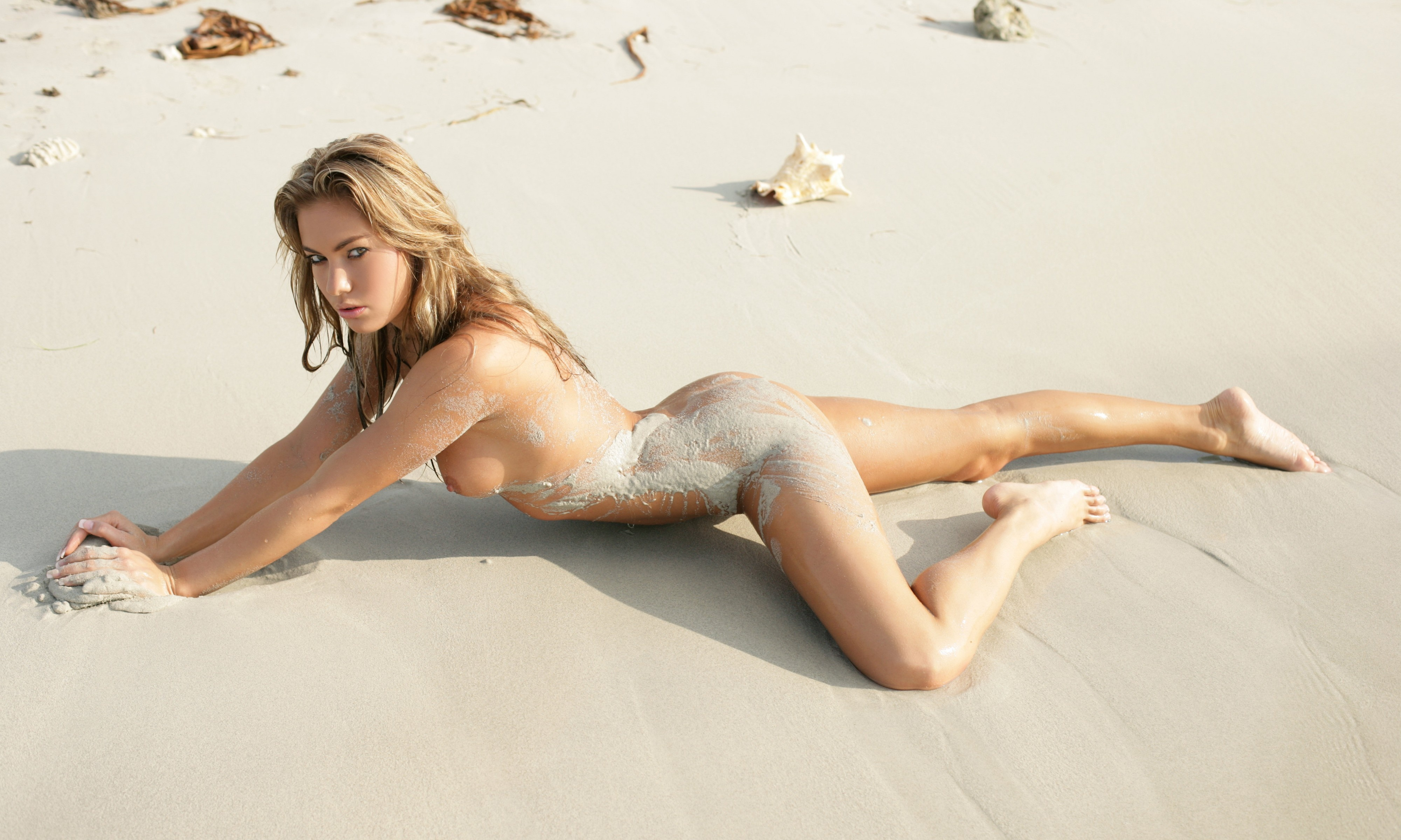 Nude In Sand 96