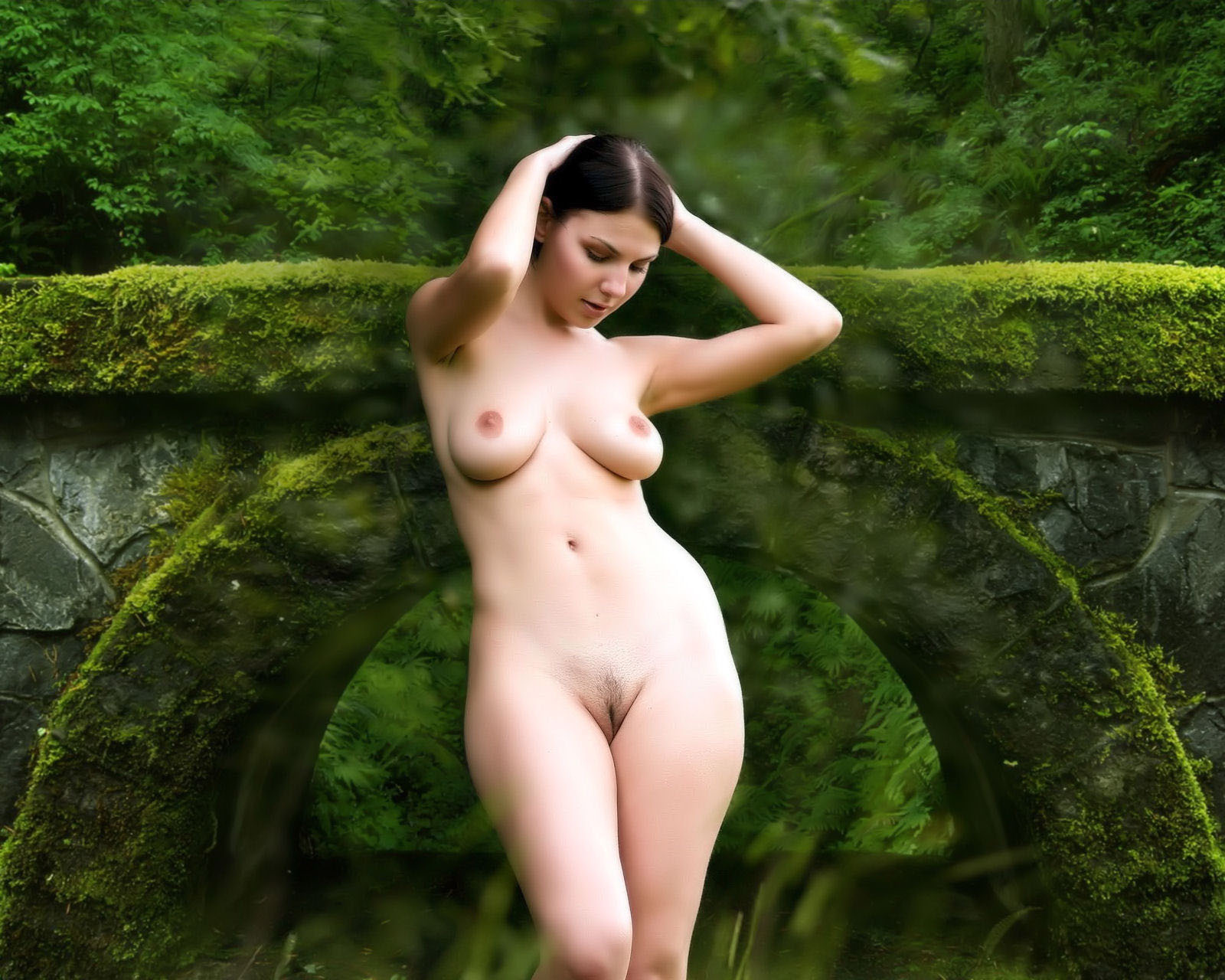image Big boobs wife outdoor exposed 18