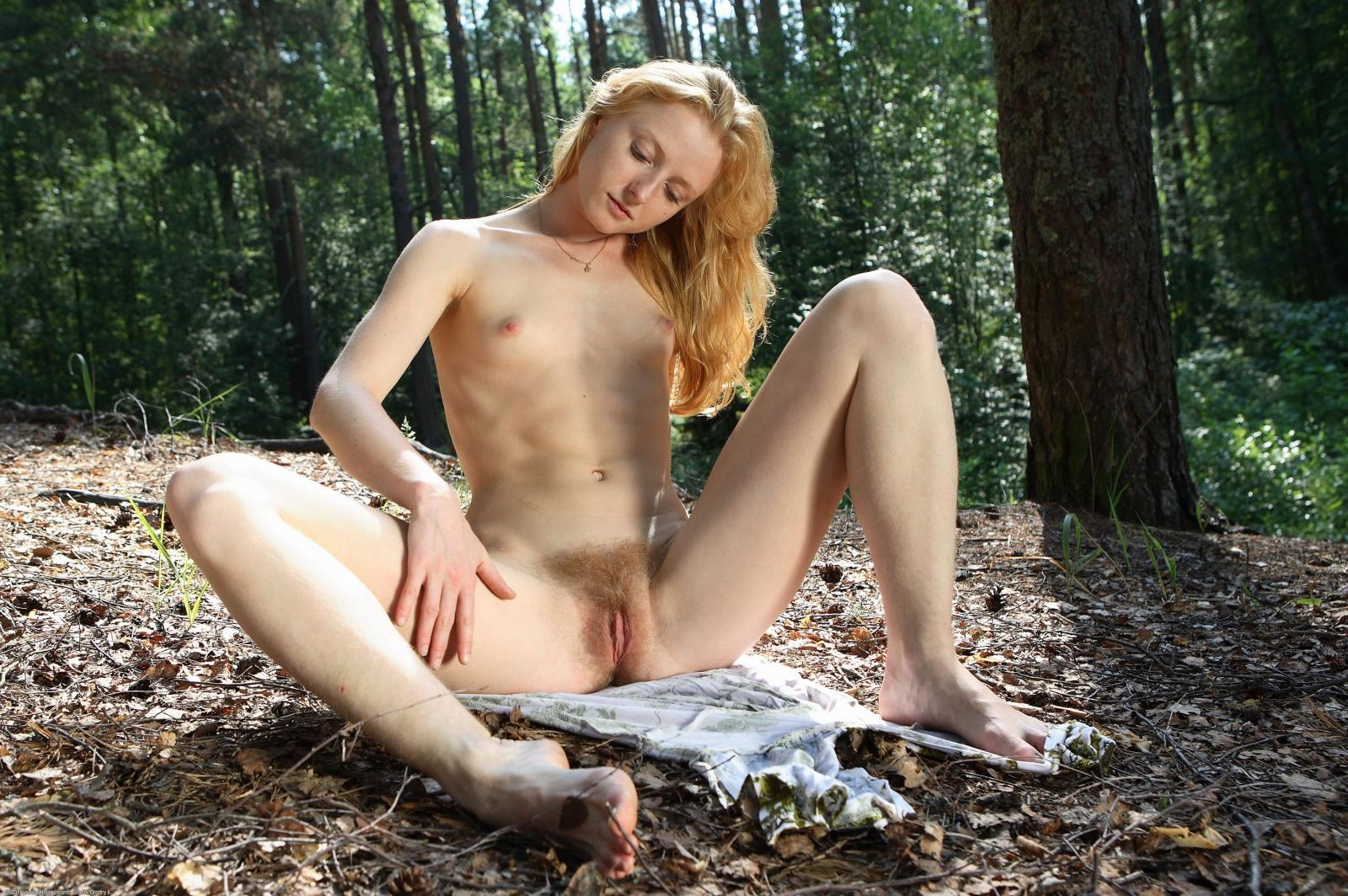 hairy outdoors Atk pussy