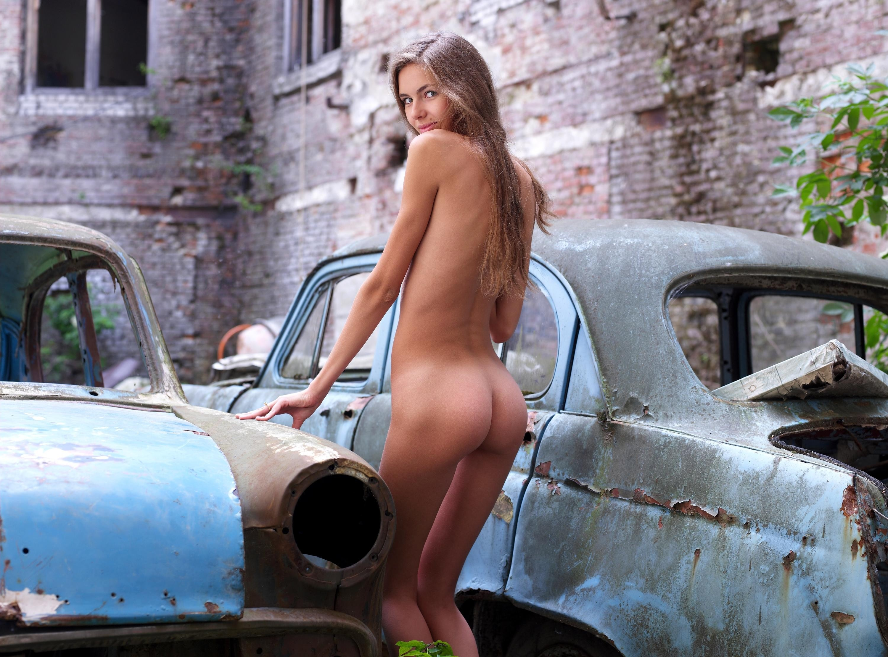 Naked Car Video