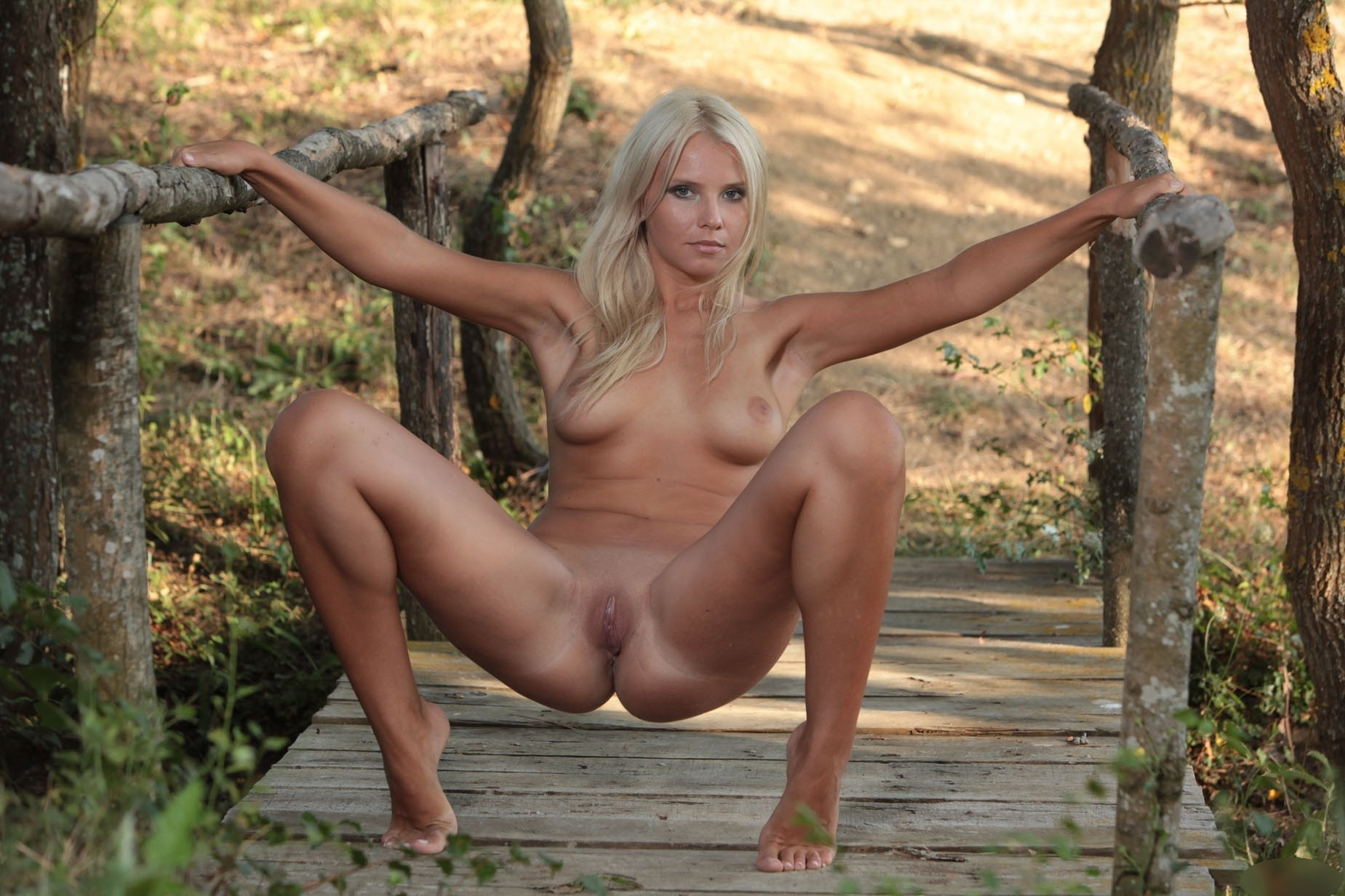 picture tanning naked outside