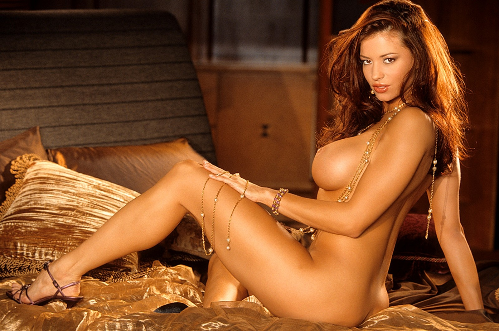 Wallpaper Candice Michelle, Brunette, Boobs, Nude, Naked -6578