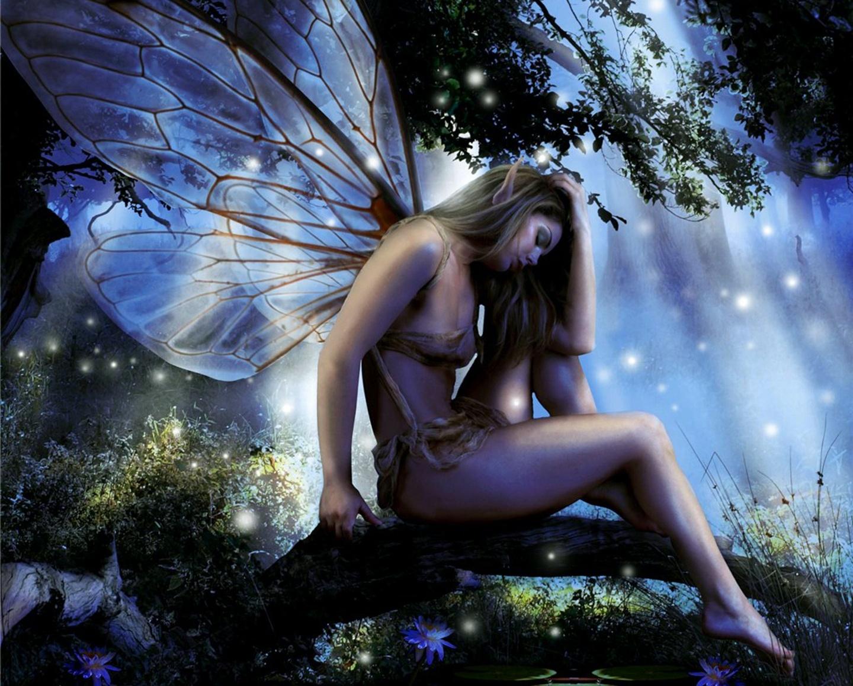 art Fantasy nude fairy