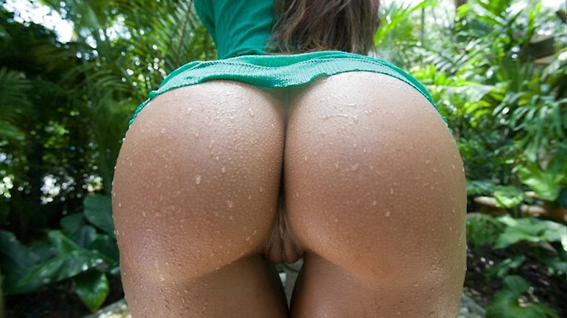wallpaper butt, ass, pussy, girl, buttocks, wet, ass shot, upskirt