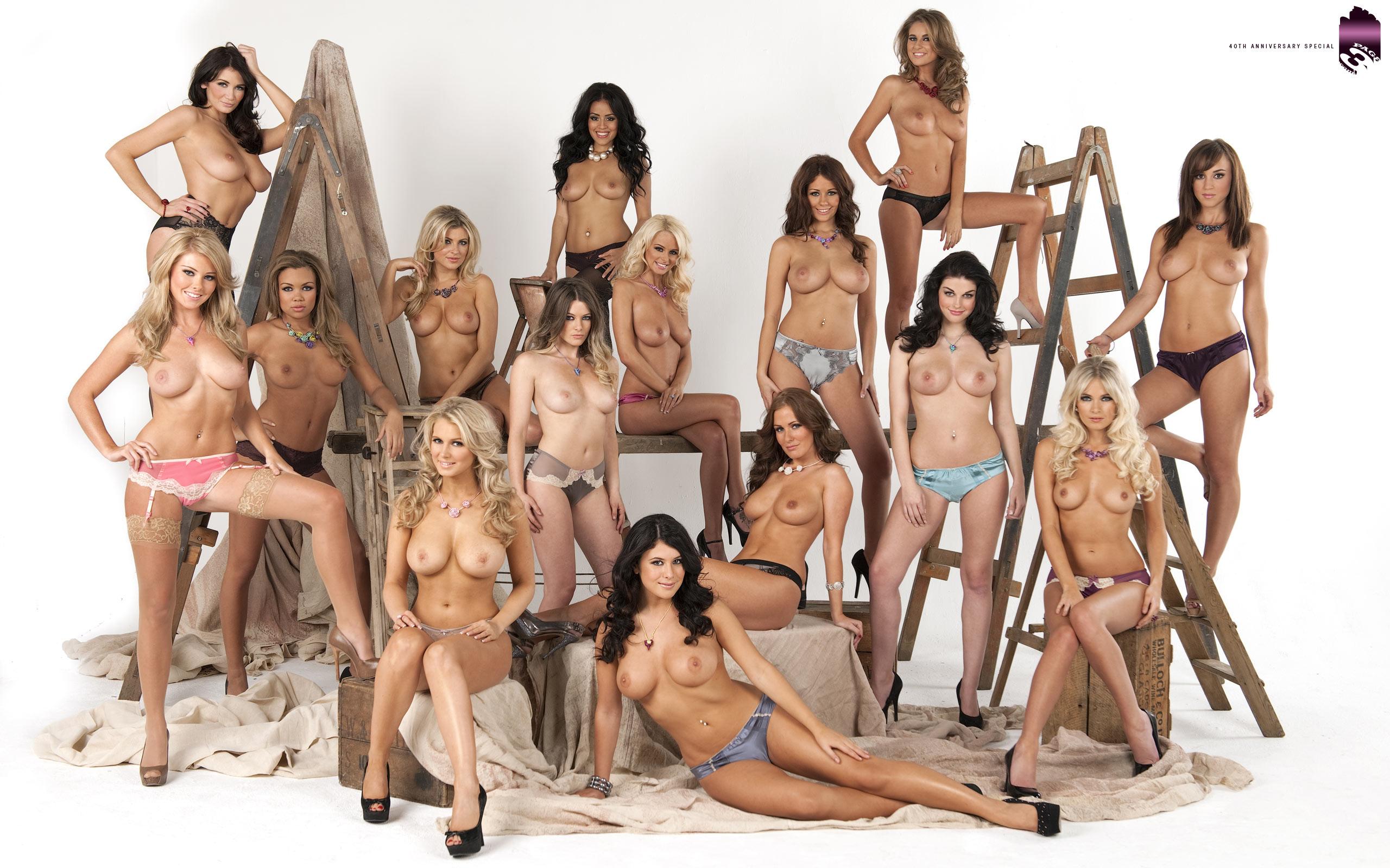 group nude women busty