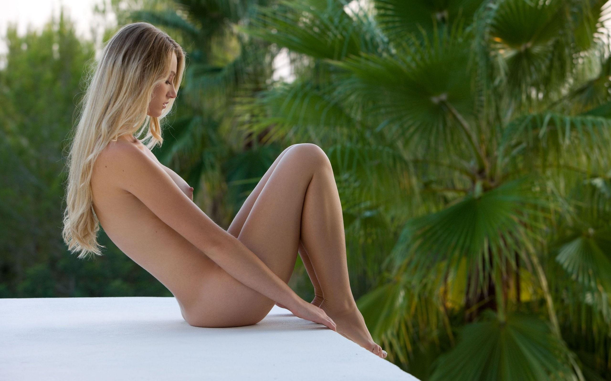 голые девушки на пальмах фото