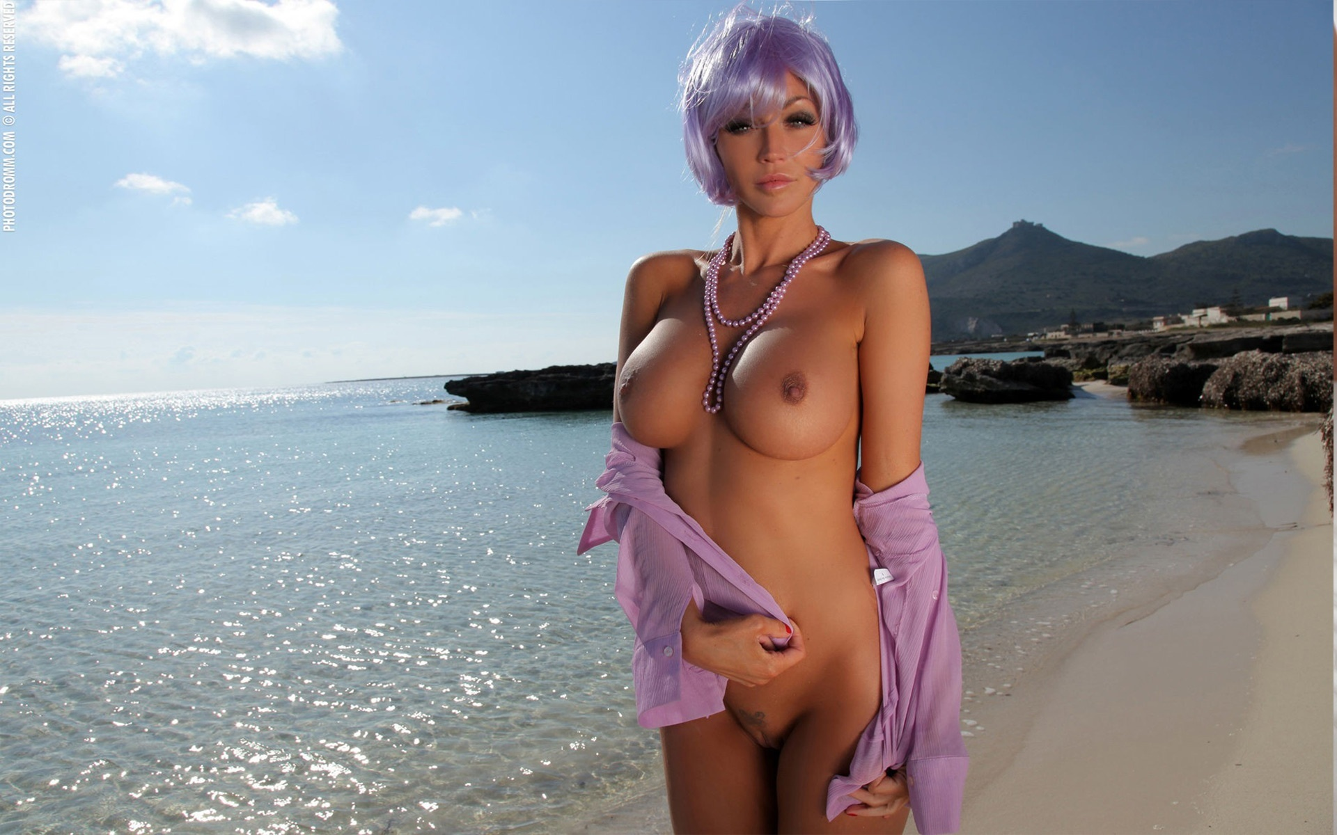 Hot Babes Naked On Beach