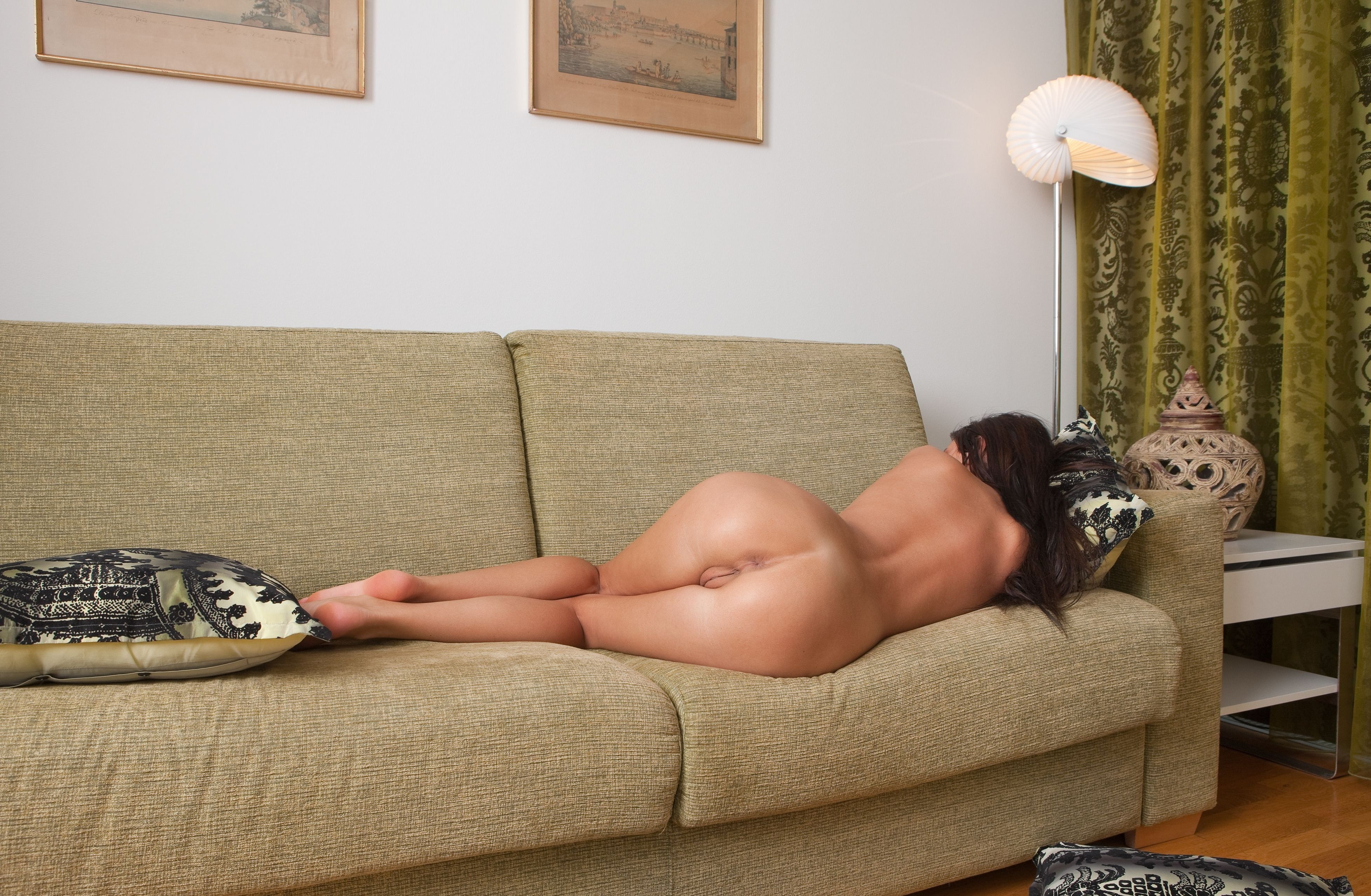 nude asses on couch
