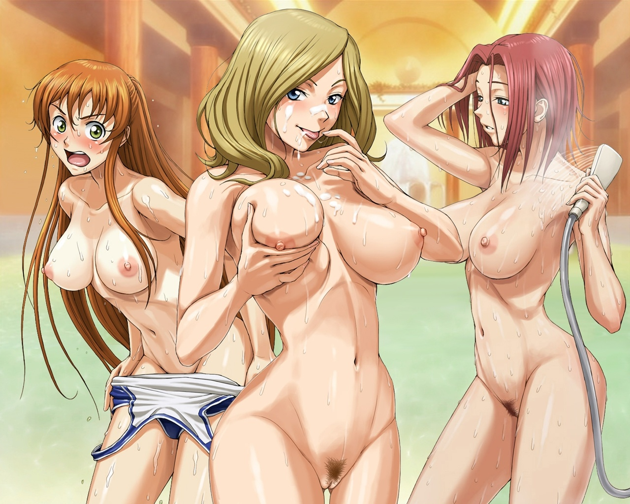 anime girls nude