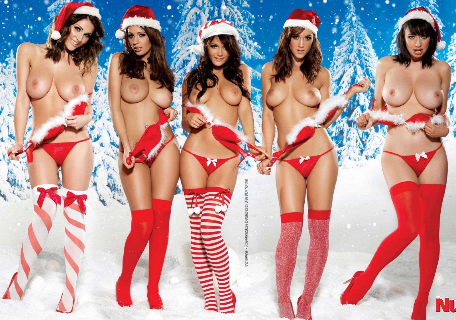 Christmas erotic nude woman s wallpaper hentai images