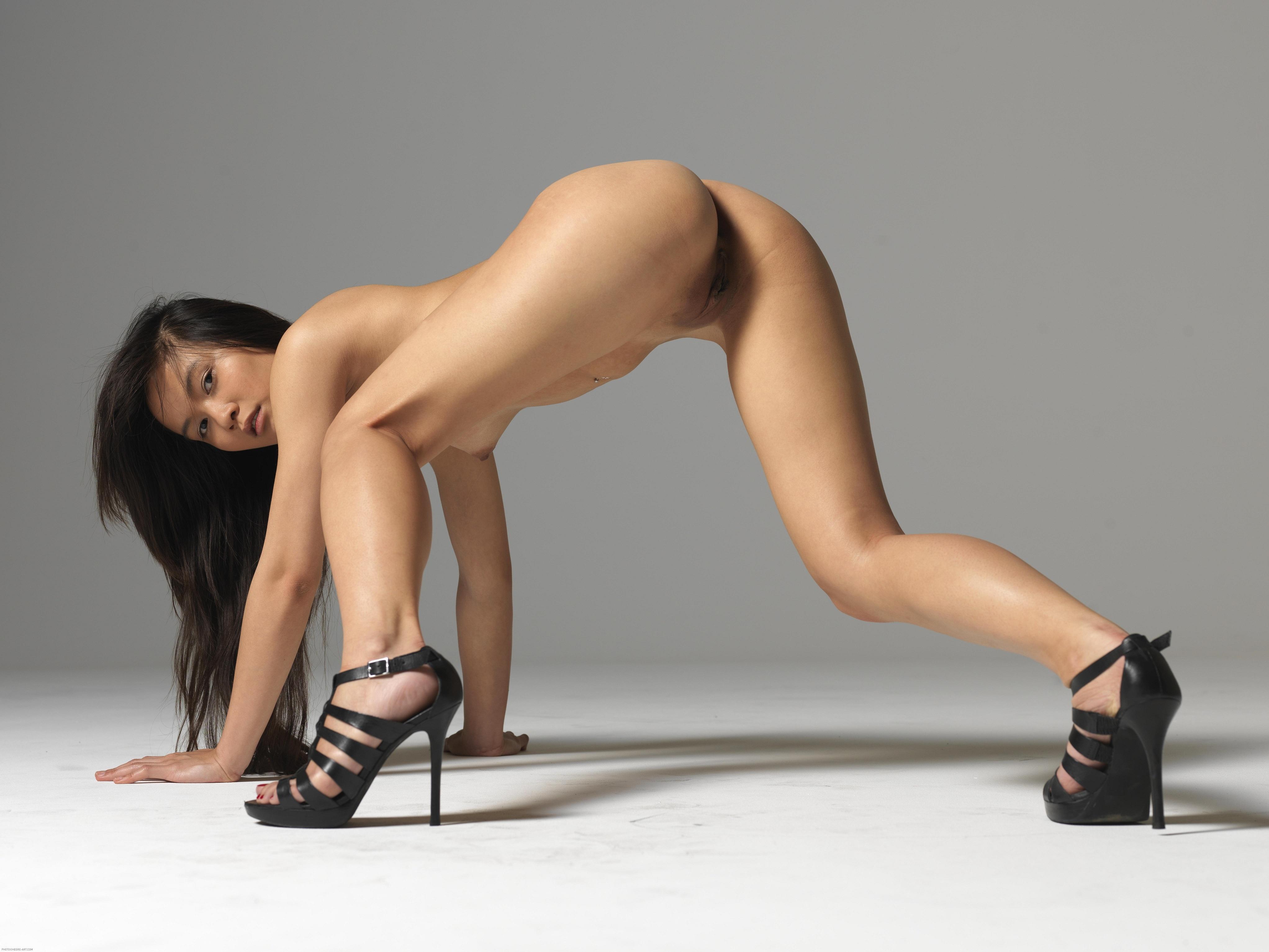 hot asian leg naked