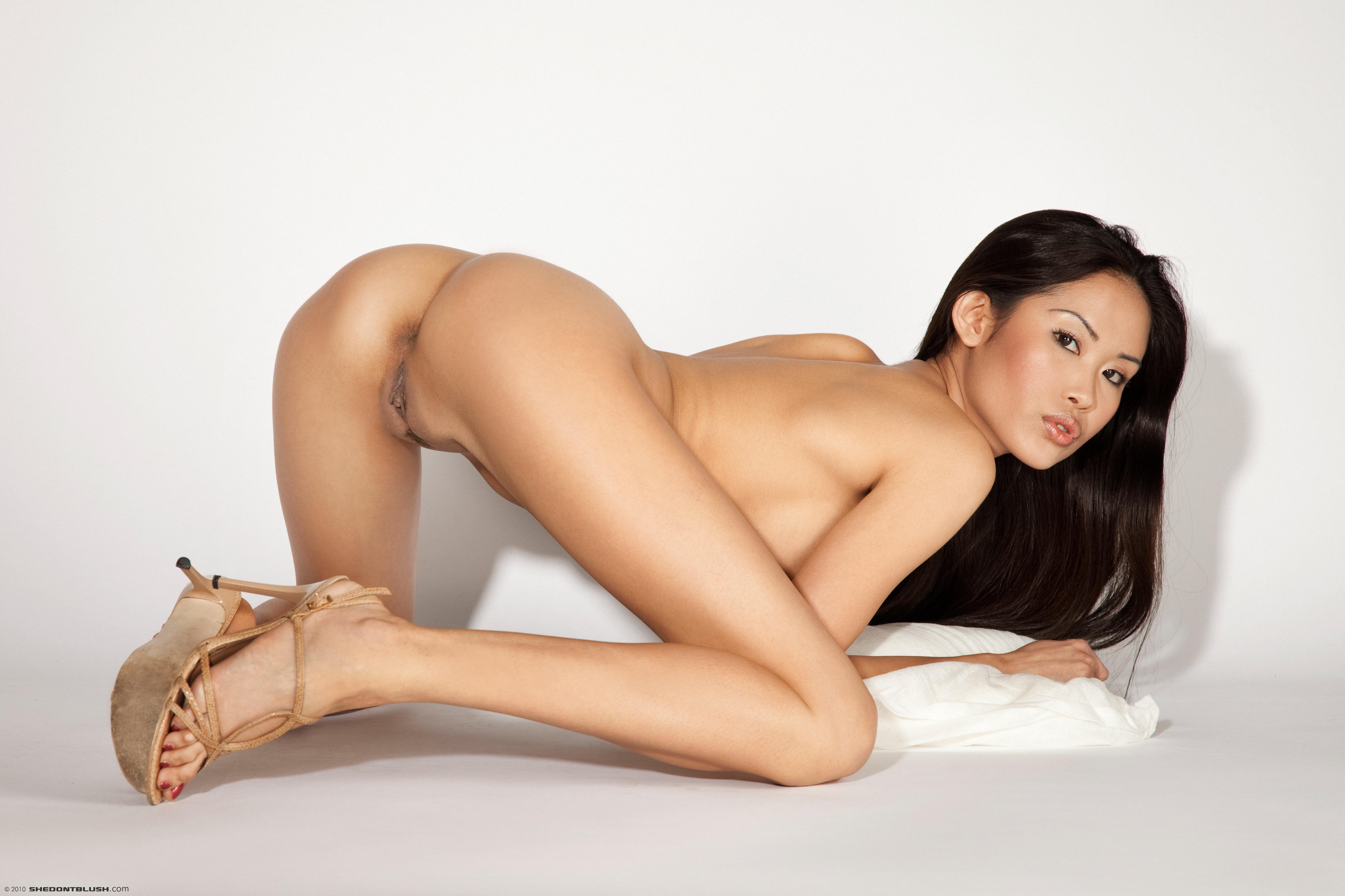 brunette asian beauties nude