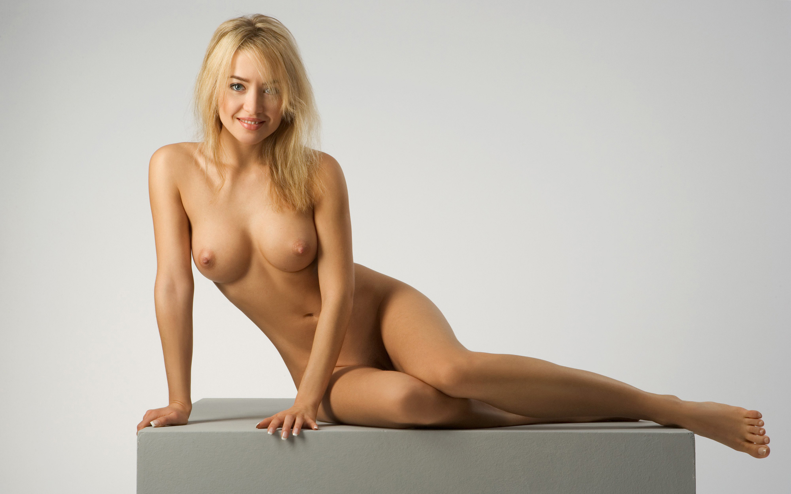 Wallpaper Blonde, Sexy Girl, Sweet, Cute, Nude, Naked, Lia -6097