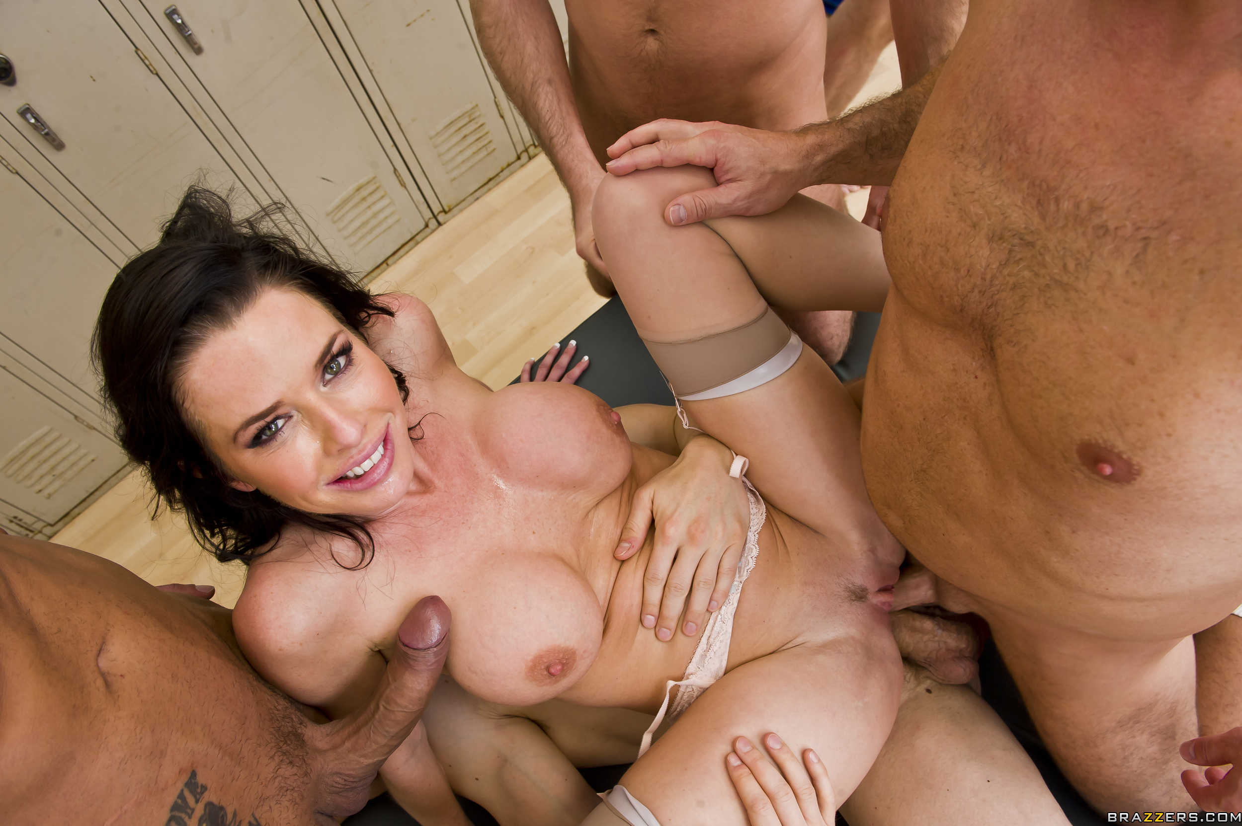 Bareback Gang Bang Facials