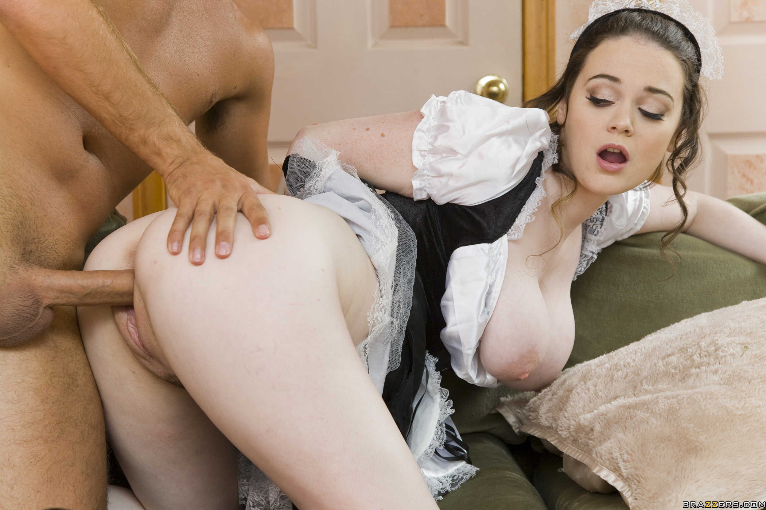 Words... french maid gets fucked in kitchen excellent