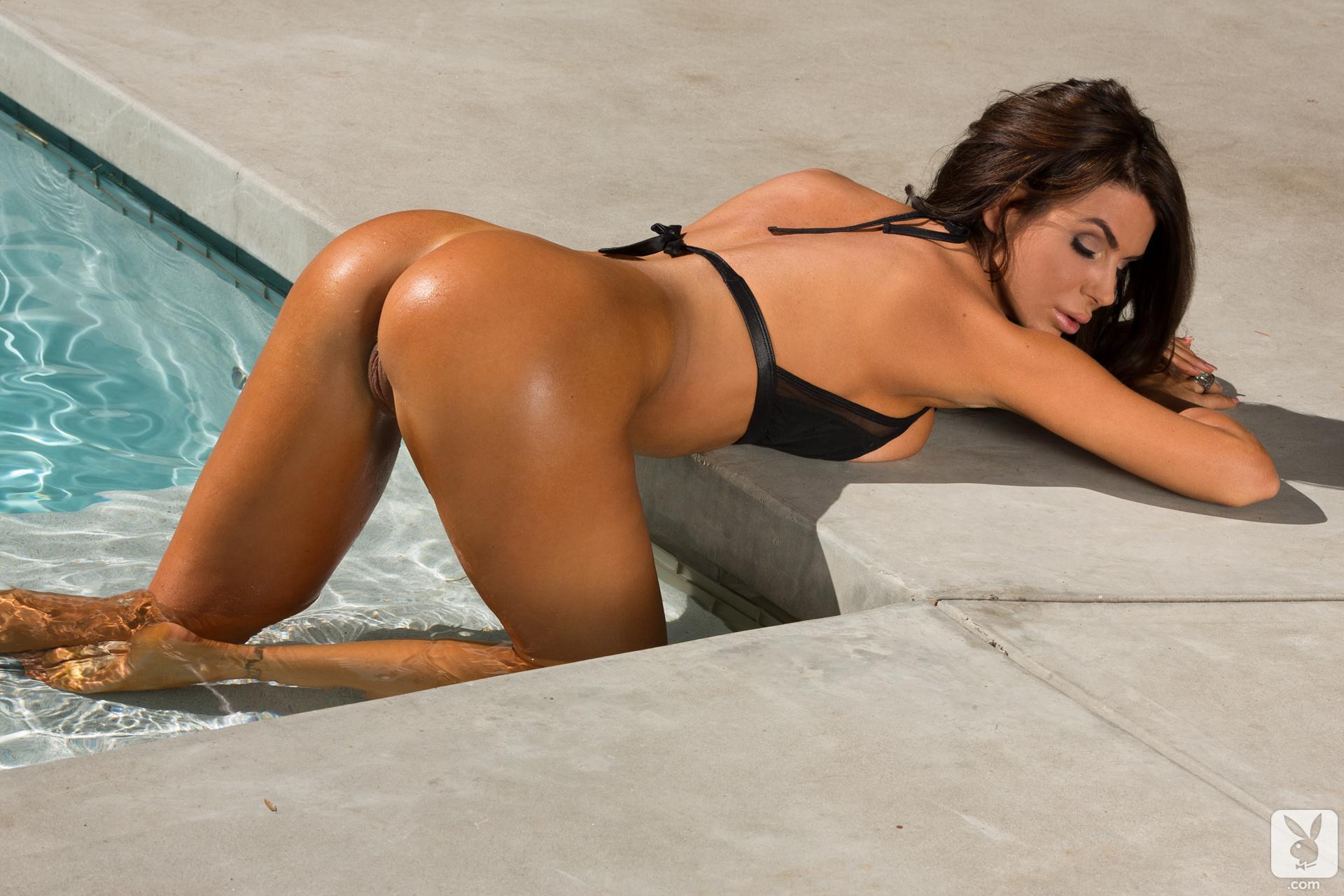 playboy nude girl water