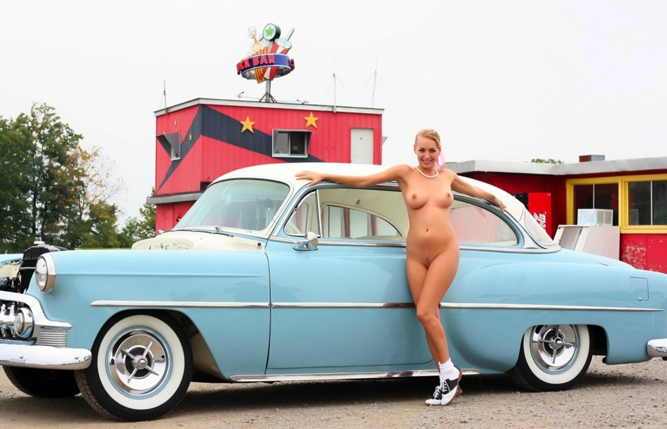 And girls cars classic nude