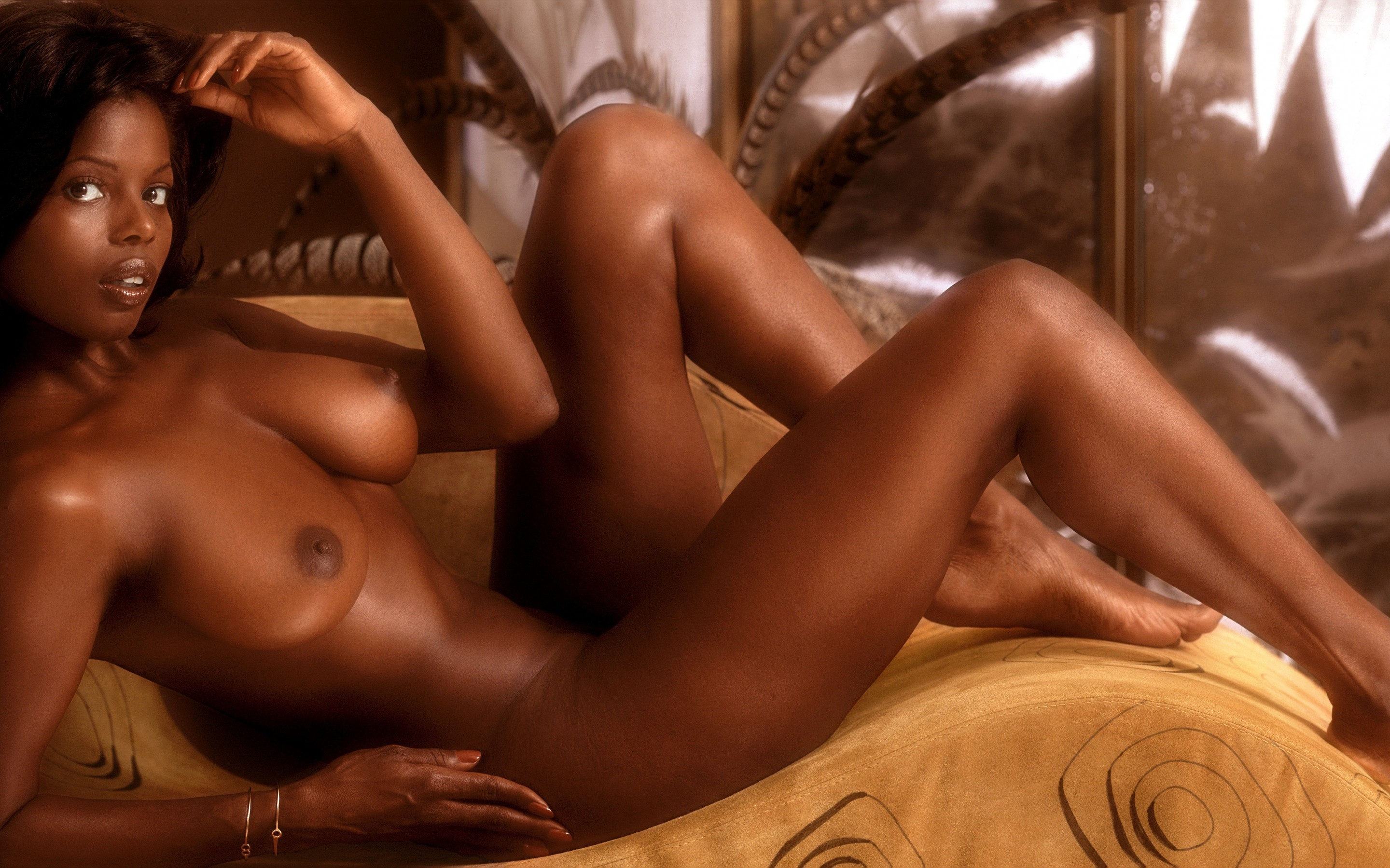 Vintage Black Nude Models Ebony
