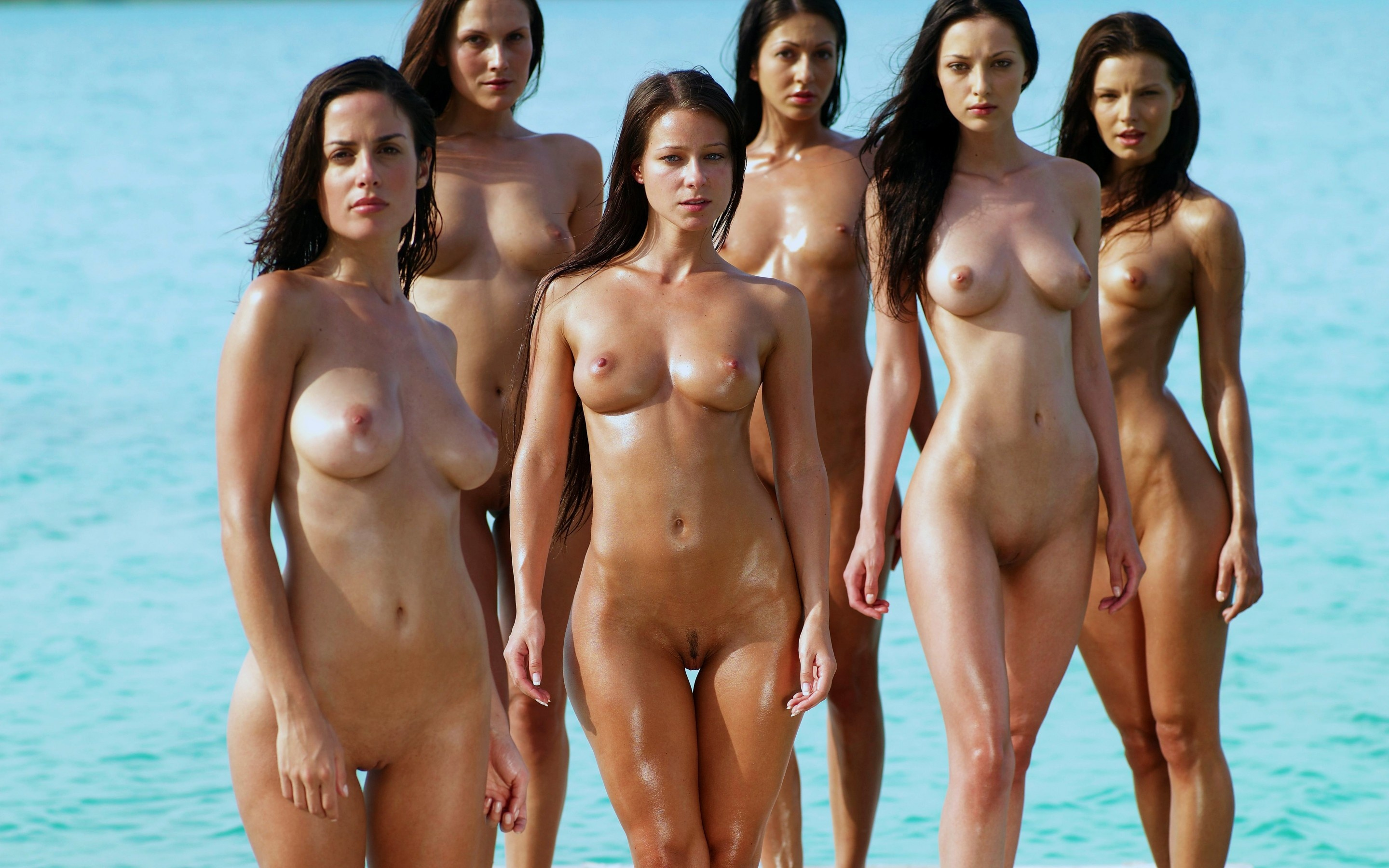 Hottest naked models