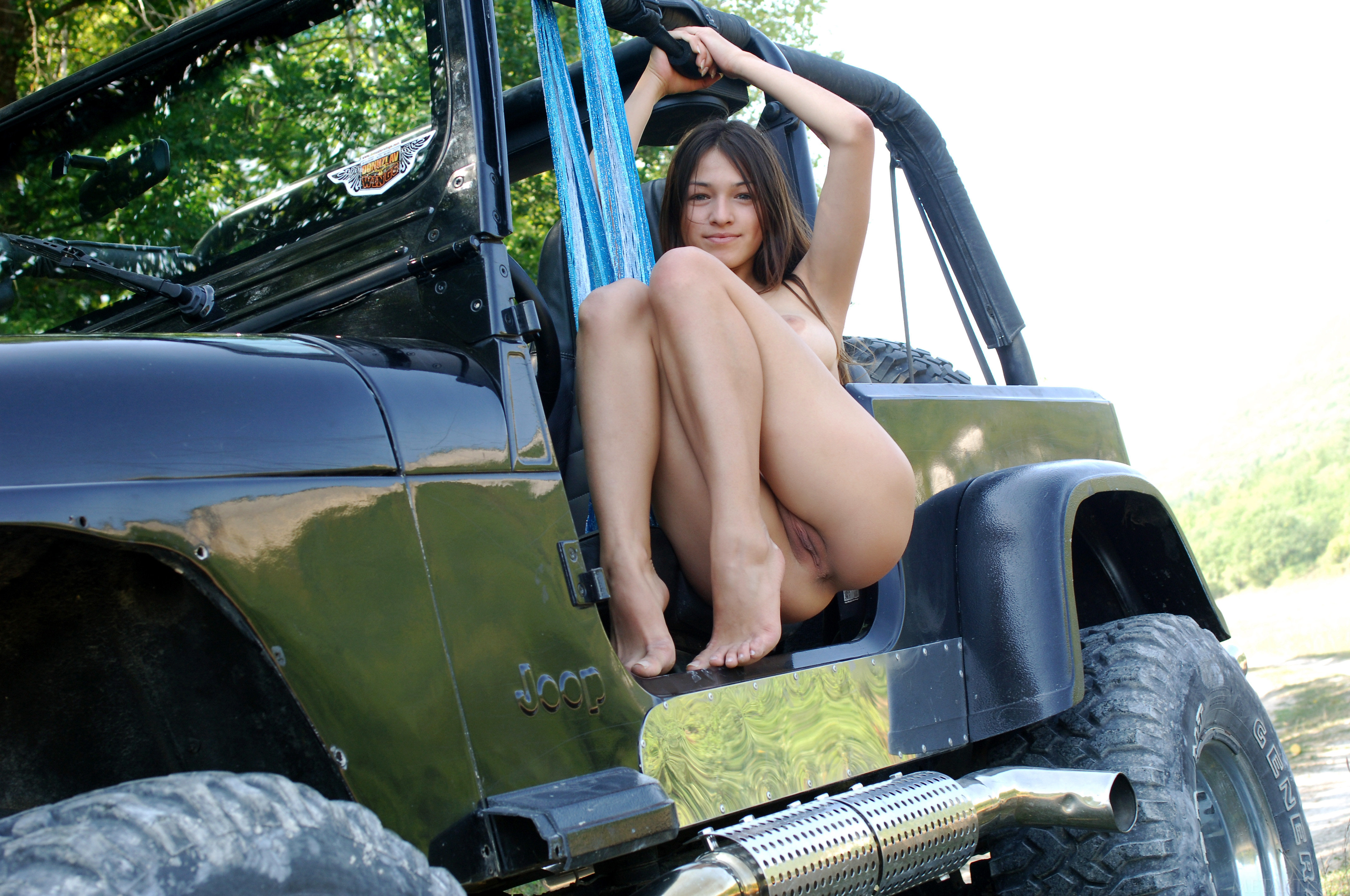 Jeeps and sexy girls