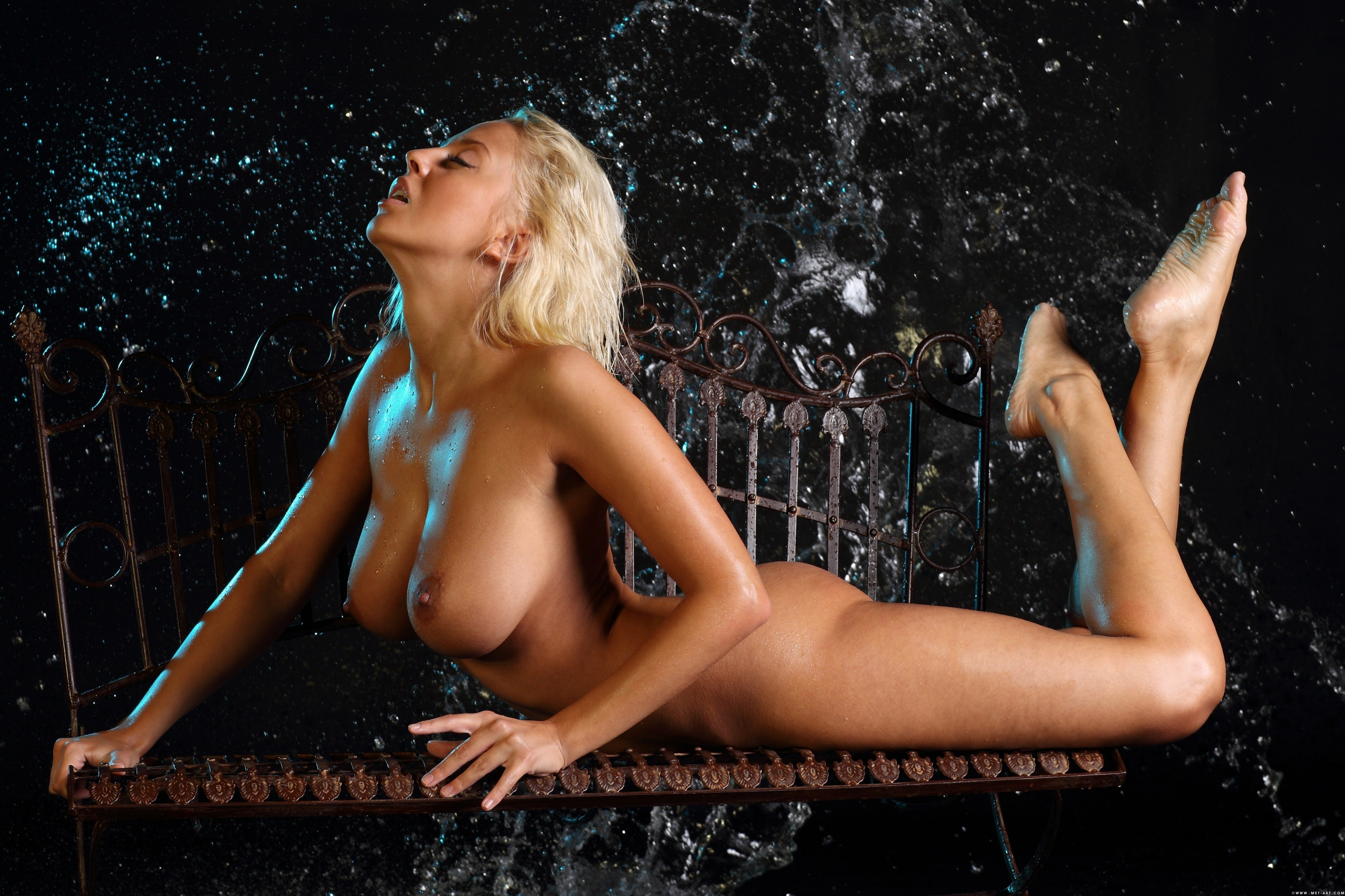 Wallpaper Mandy Dee, Blonde, Sexy Girl, Nude, Naked, Boobs -9632