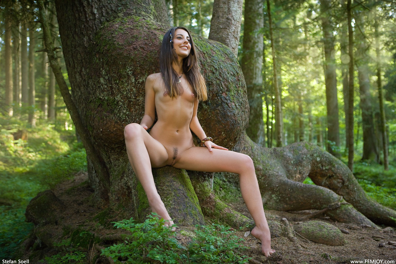 Соблазнение девушки в лесу 6 фотография