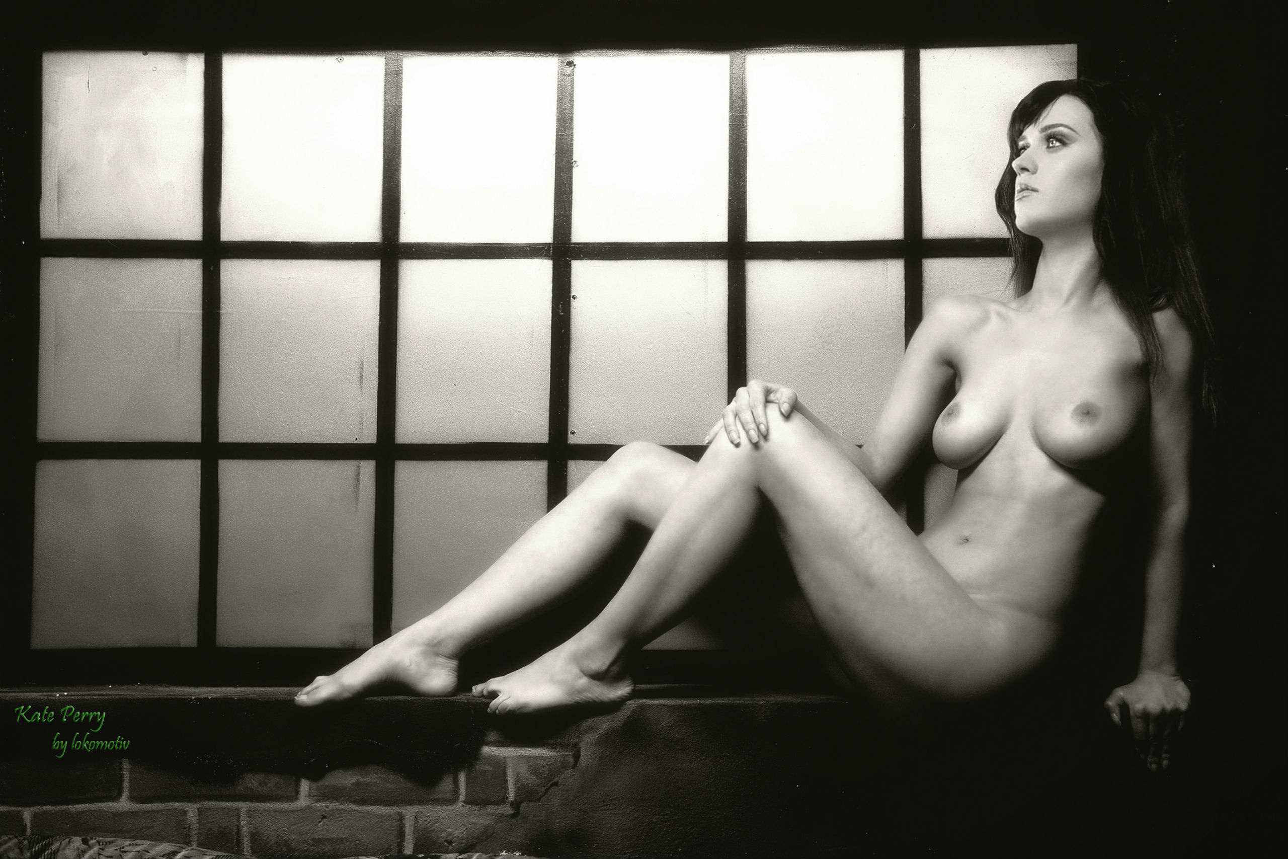 Wallpaper Katy Perry, Singer, Fake, Nude, Boobs -1765