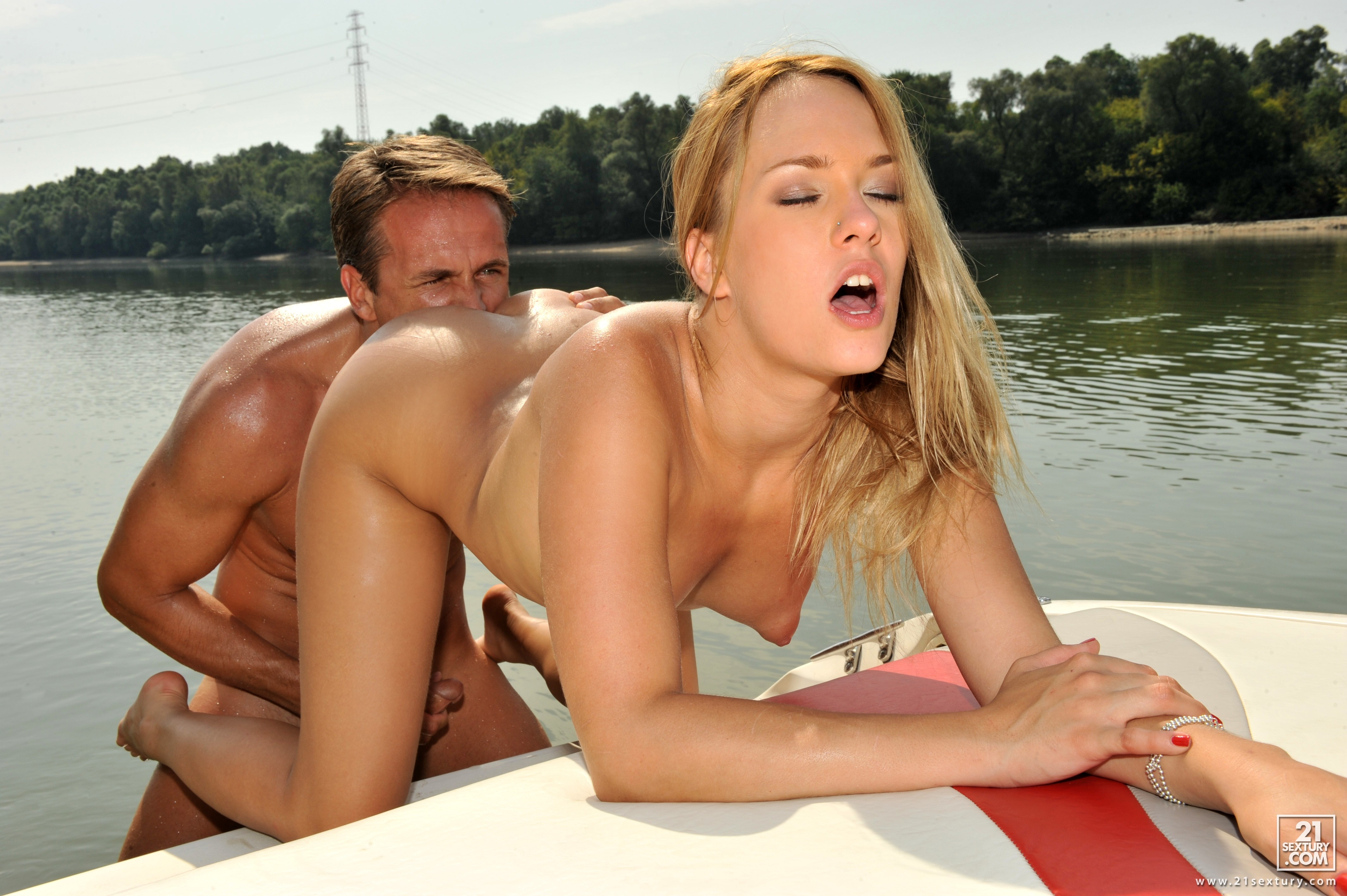 wallpaper blue angel, blond, tits, sea, dick, dick adorer, lovers