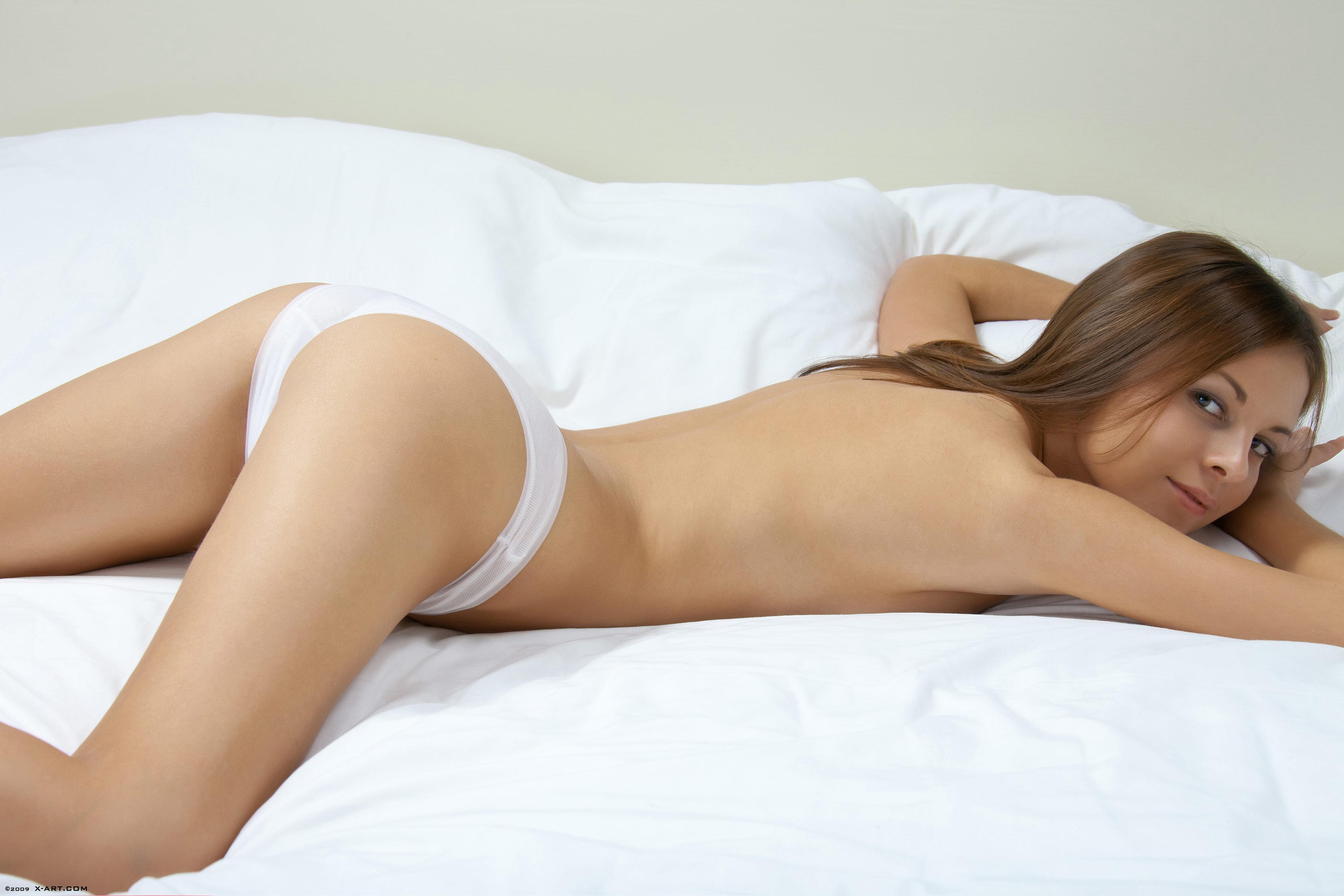 Wallpaper Mackenzie, Brunette, Panties, Legs, Ass, Skinny -7121