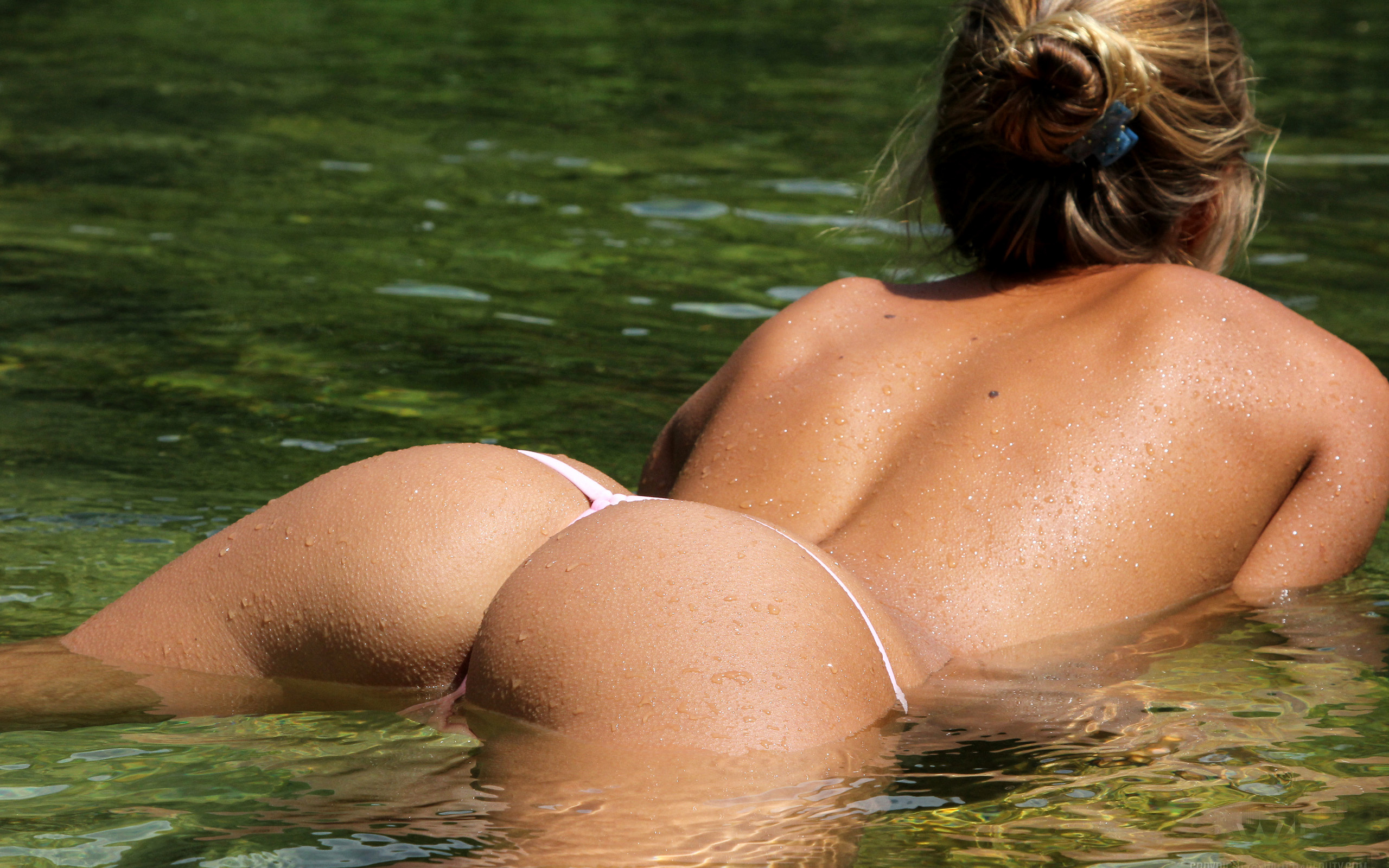 Remarkable, the perfect asses in thongs agree, rather