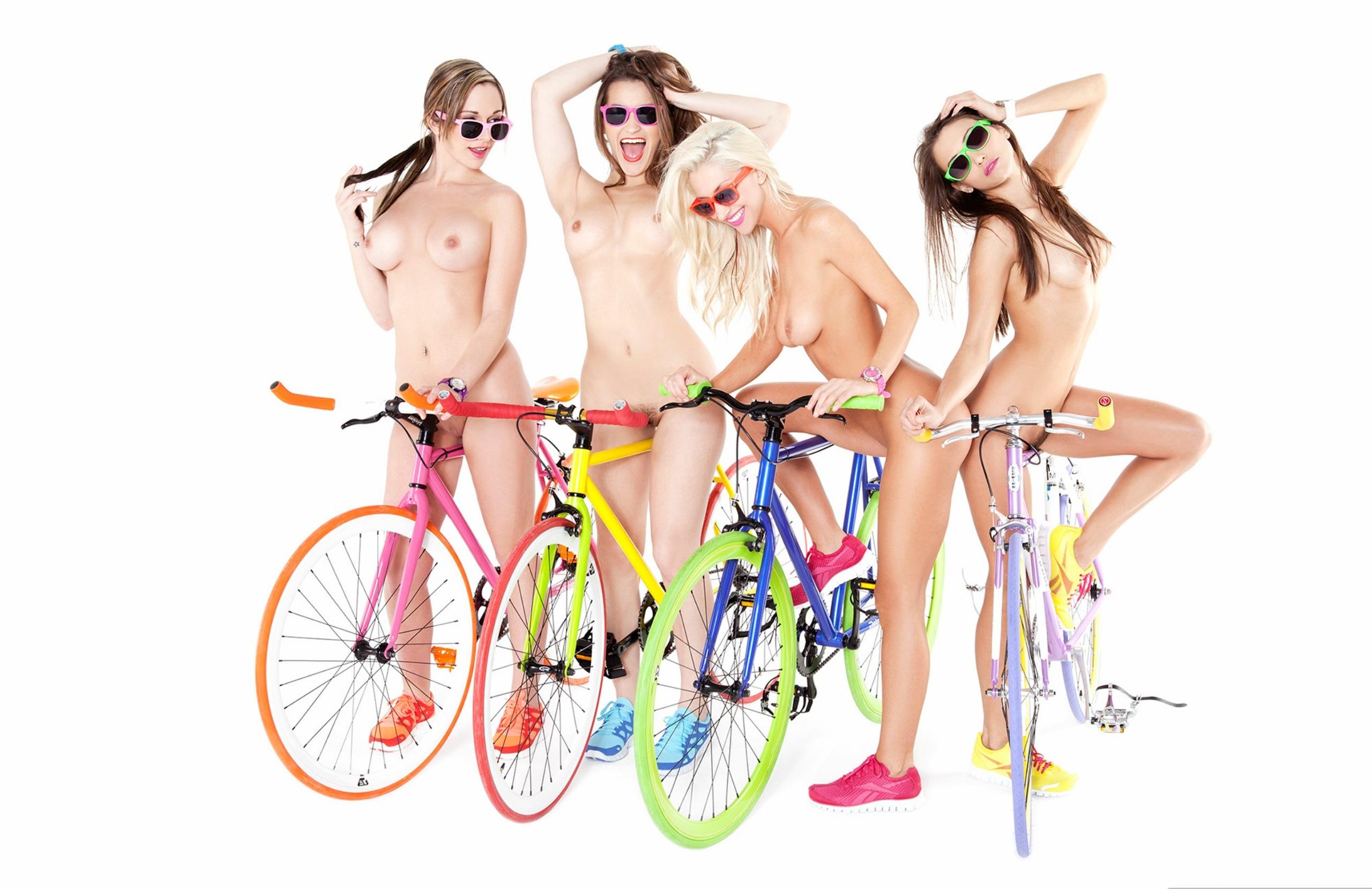Wallpaper Celeste Star, Sammie Rhodes, Bikes, Tits, Dani -1228