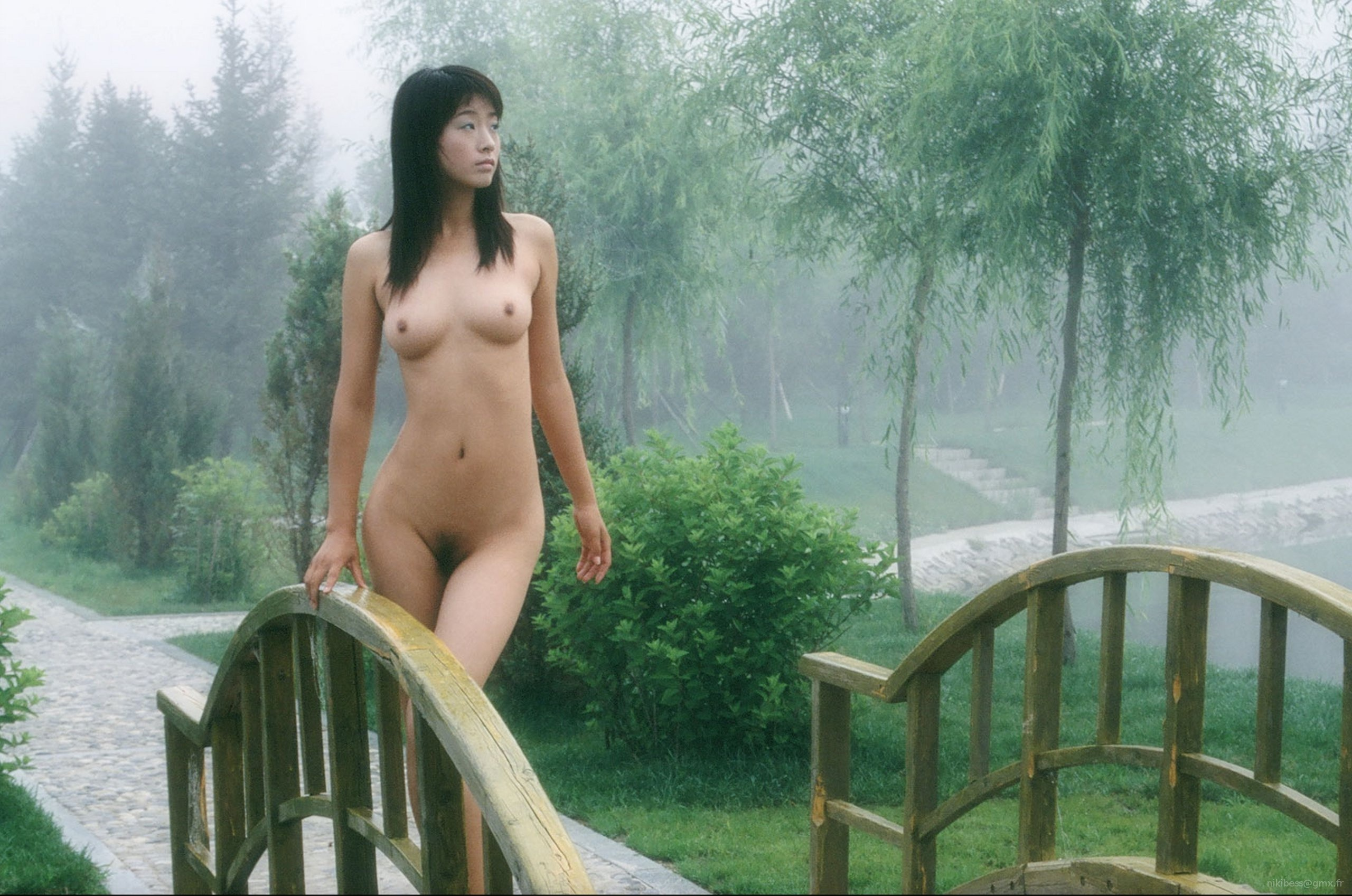 Lie. Asian girls in water naked consider, that