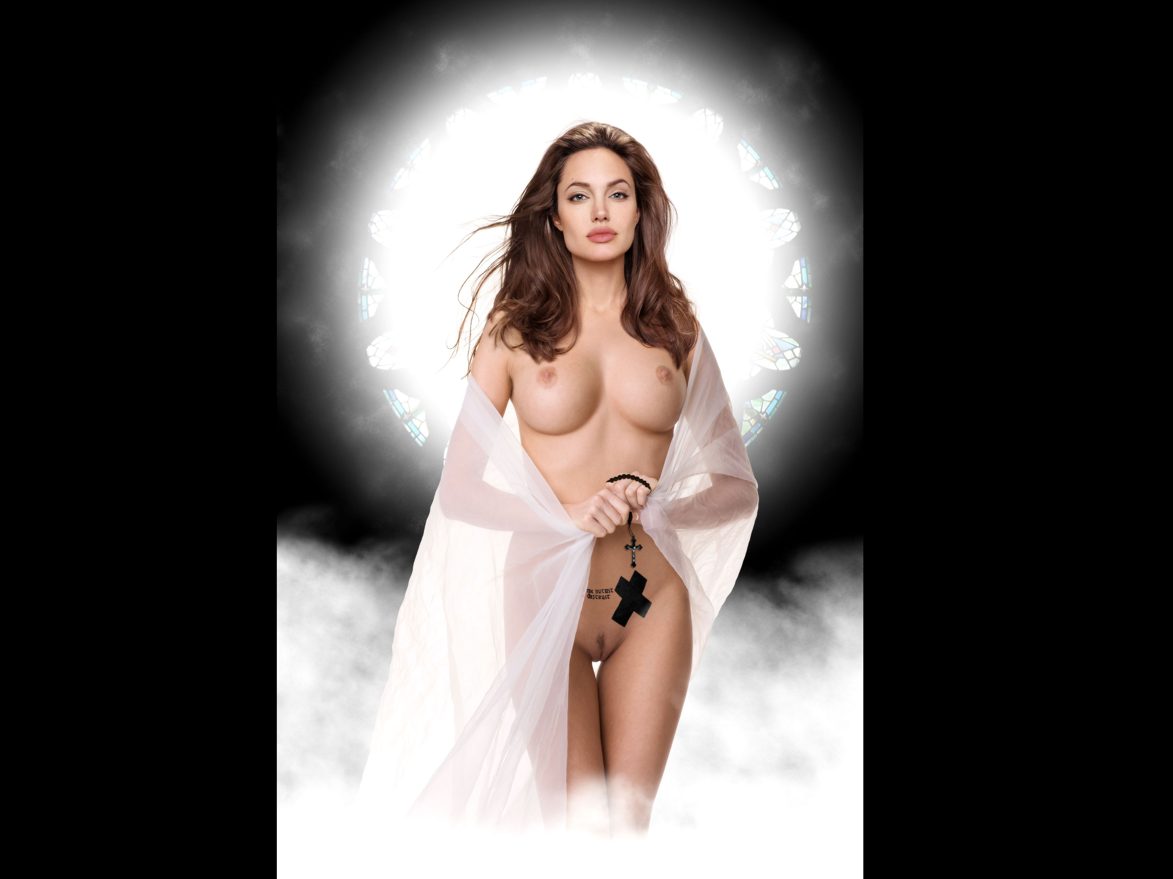 Naked women in robes porn