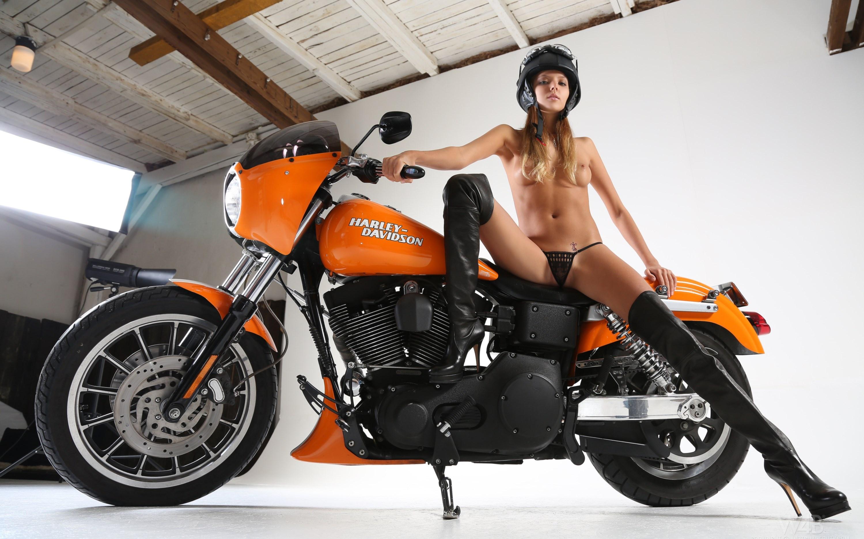 harley davidson and topless