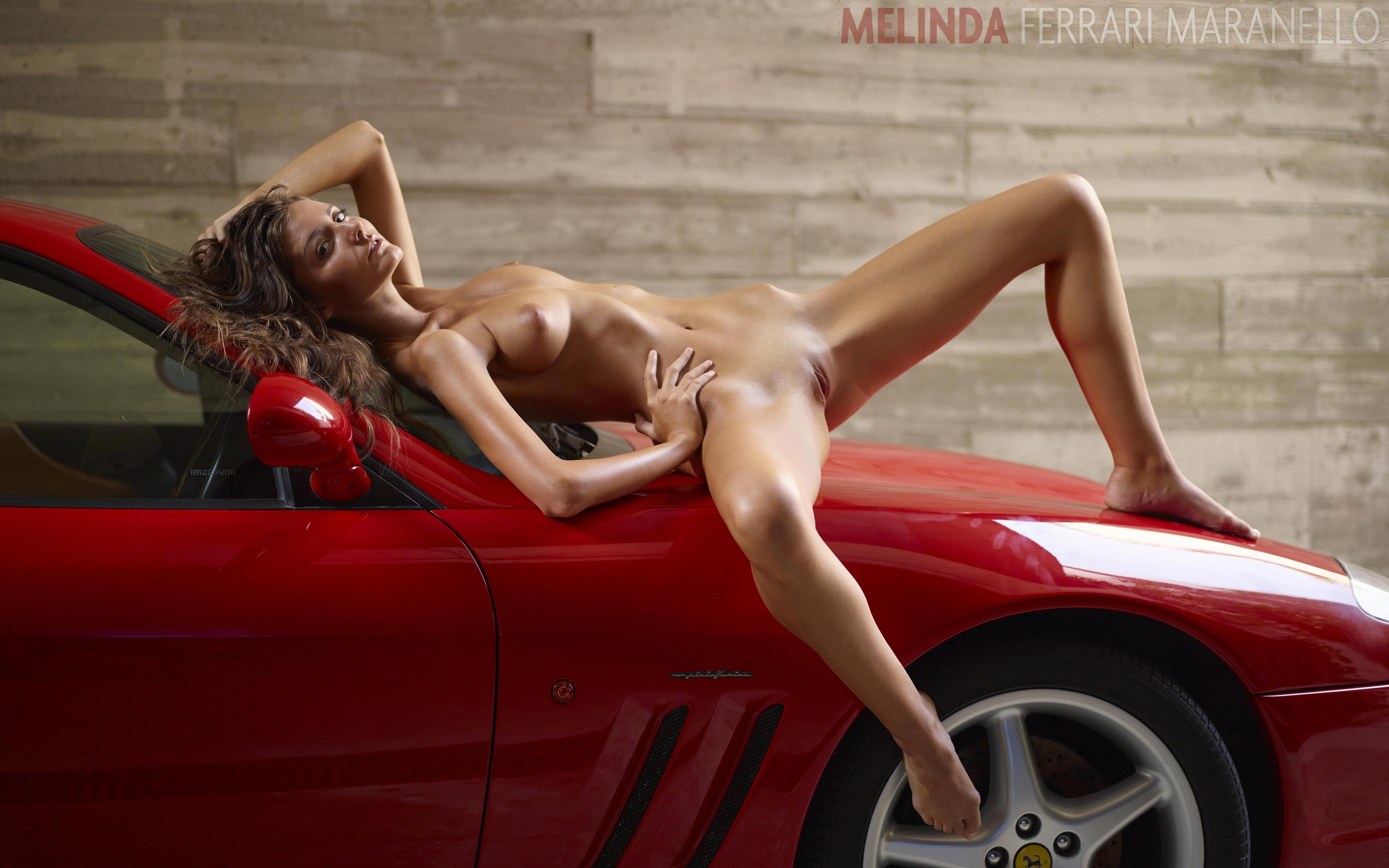 Melinda with Ferrari Maranello picture 04 by