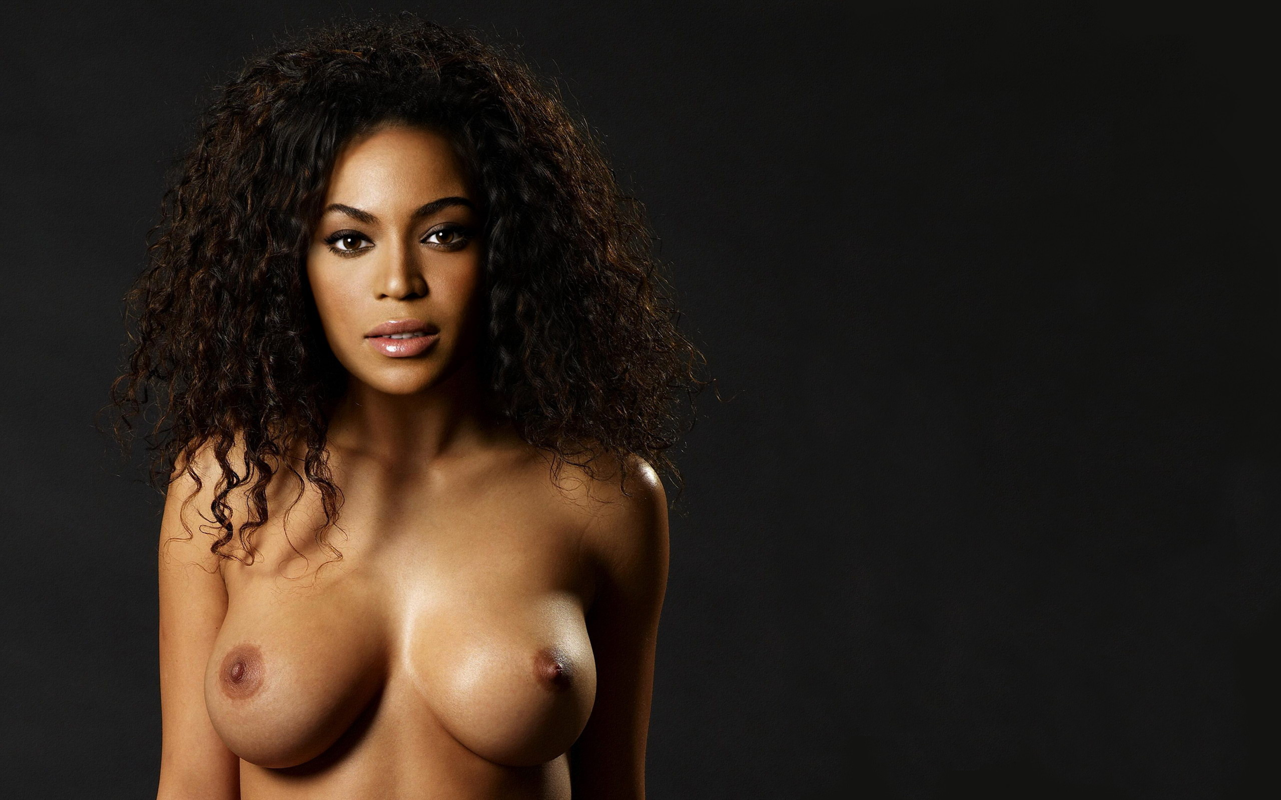 beyonce nude tits