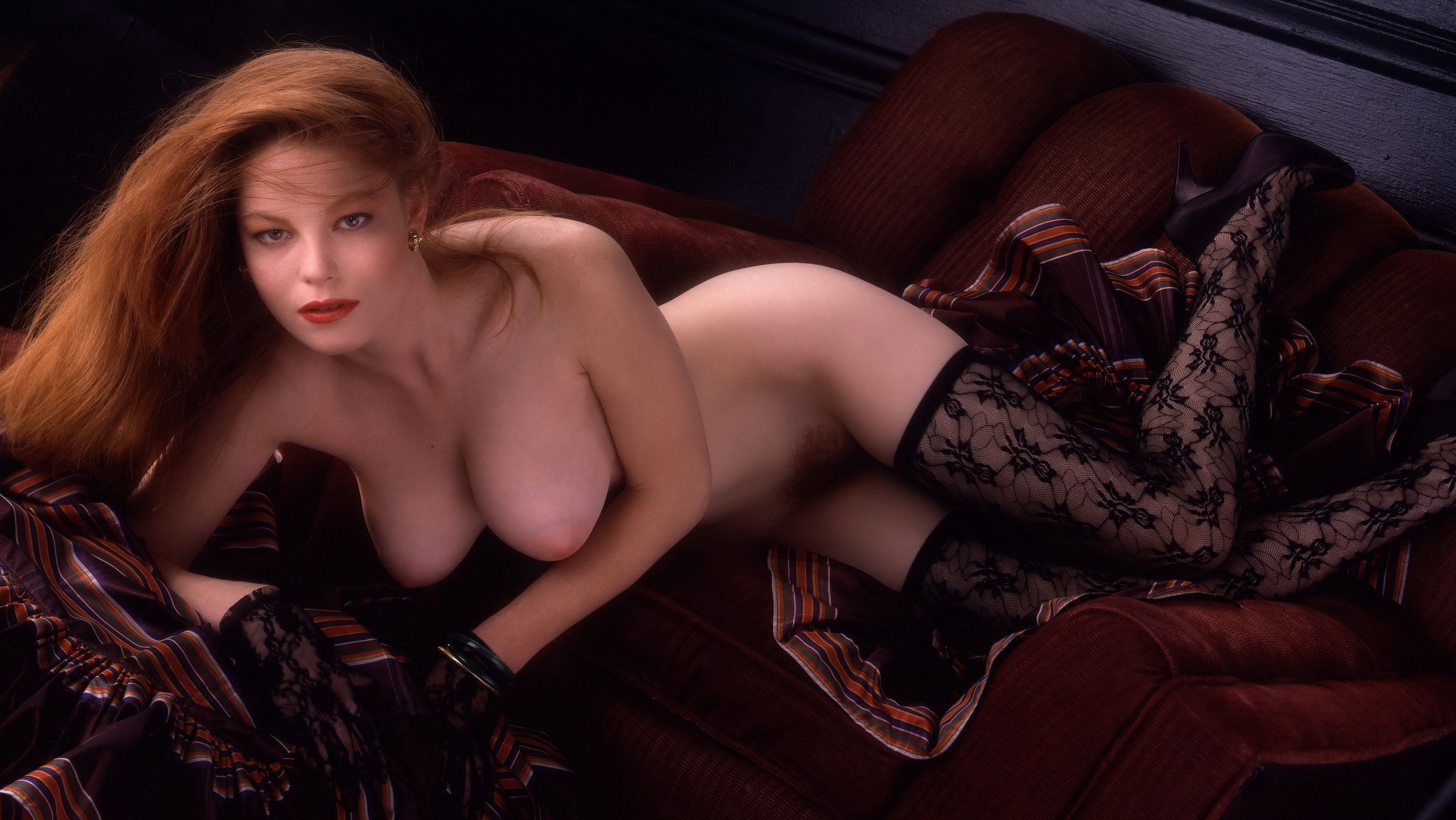 Wallpaper laura richmond, playboy, 1988.09, stockings ...