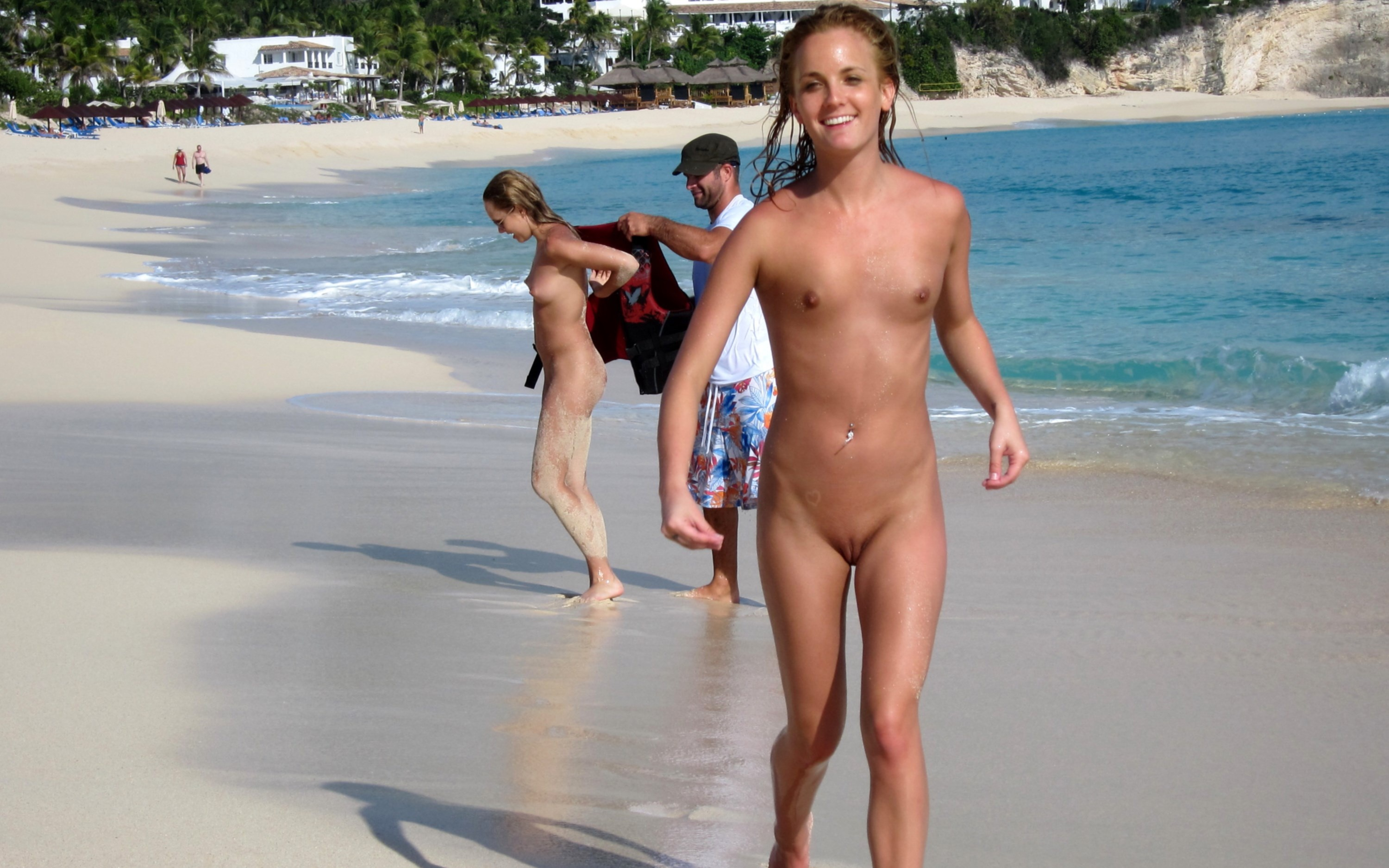 Junior nudists blonde