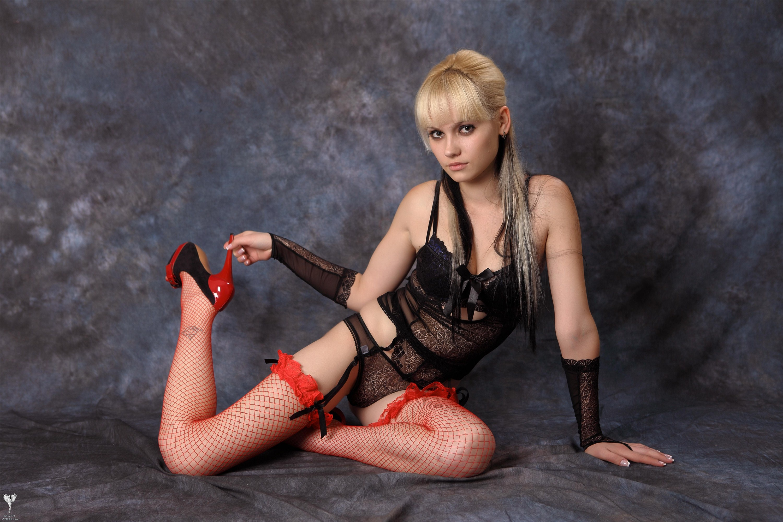 Wallpaper Kristina, Blonde, Lingerie, Hot, Sexy, Teen -3331