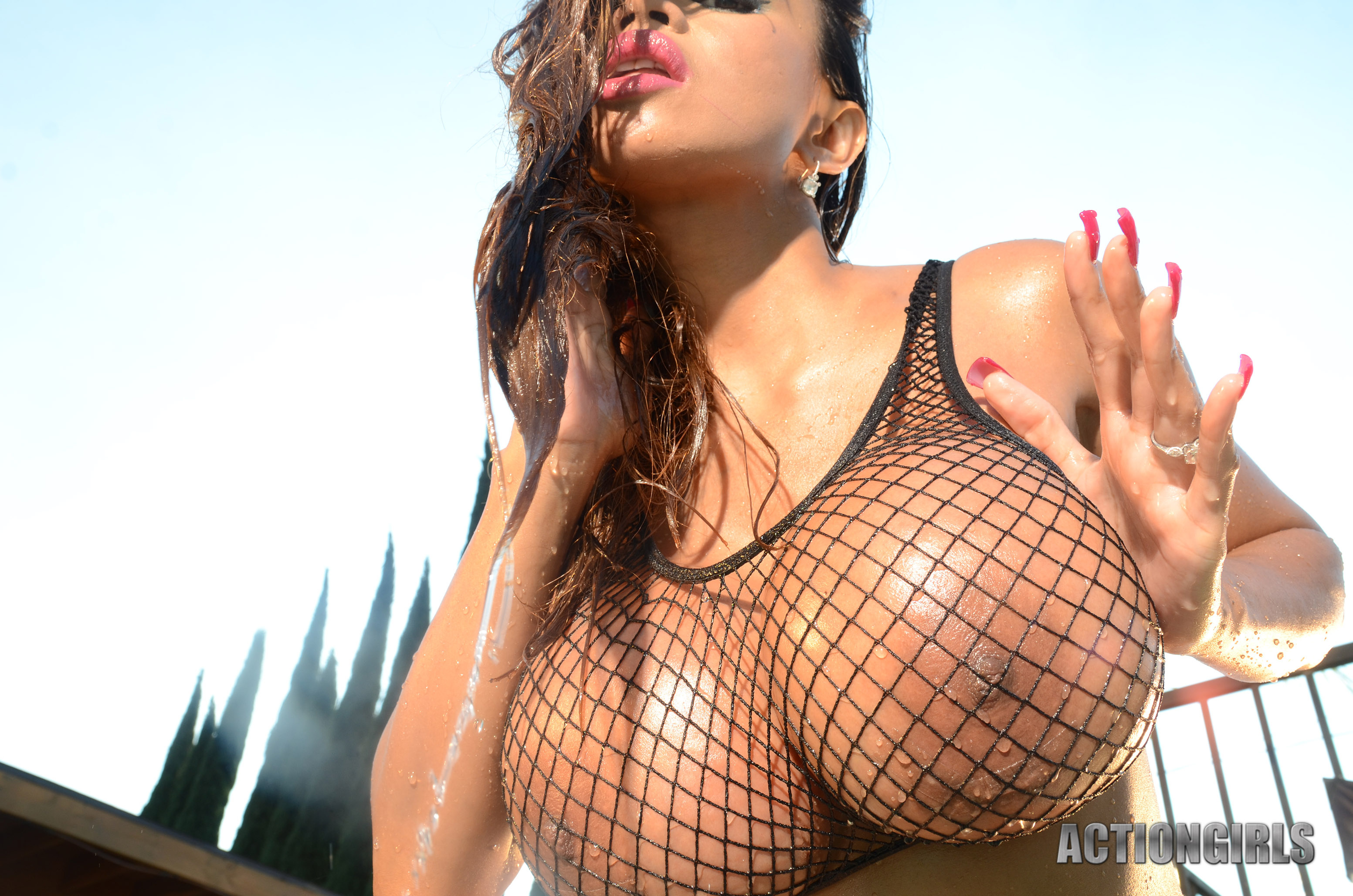 Wallpaper Armie Flores, Armie Field, Big Boobs, Huge Tits -9796