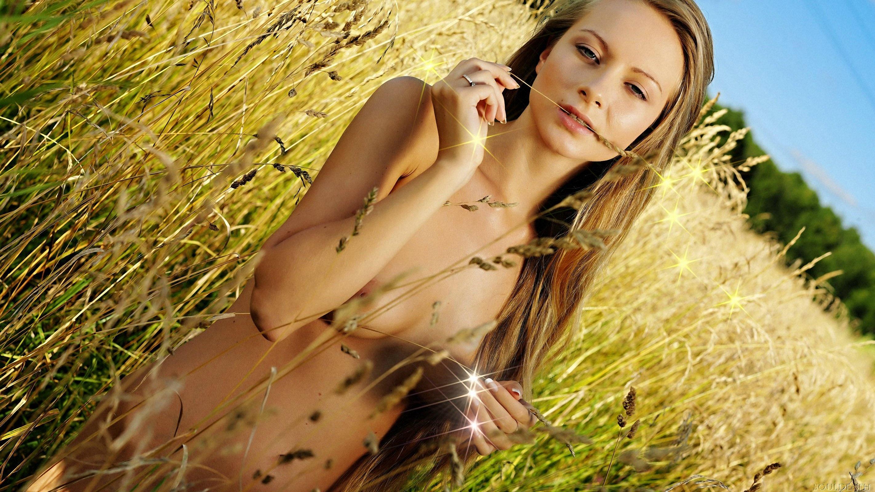Фото голых девушек с русыми волосами 23 фотография