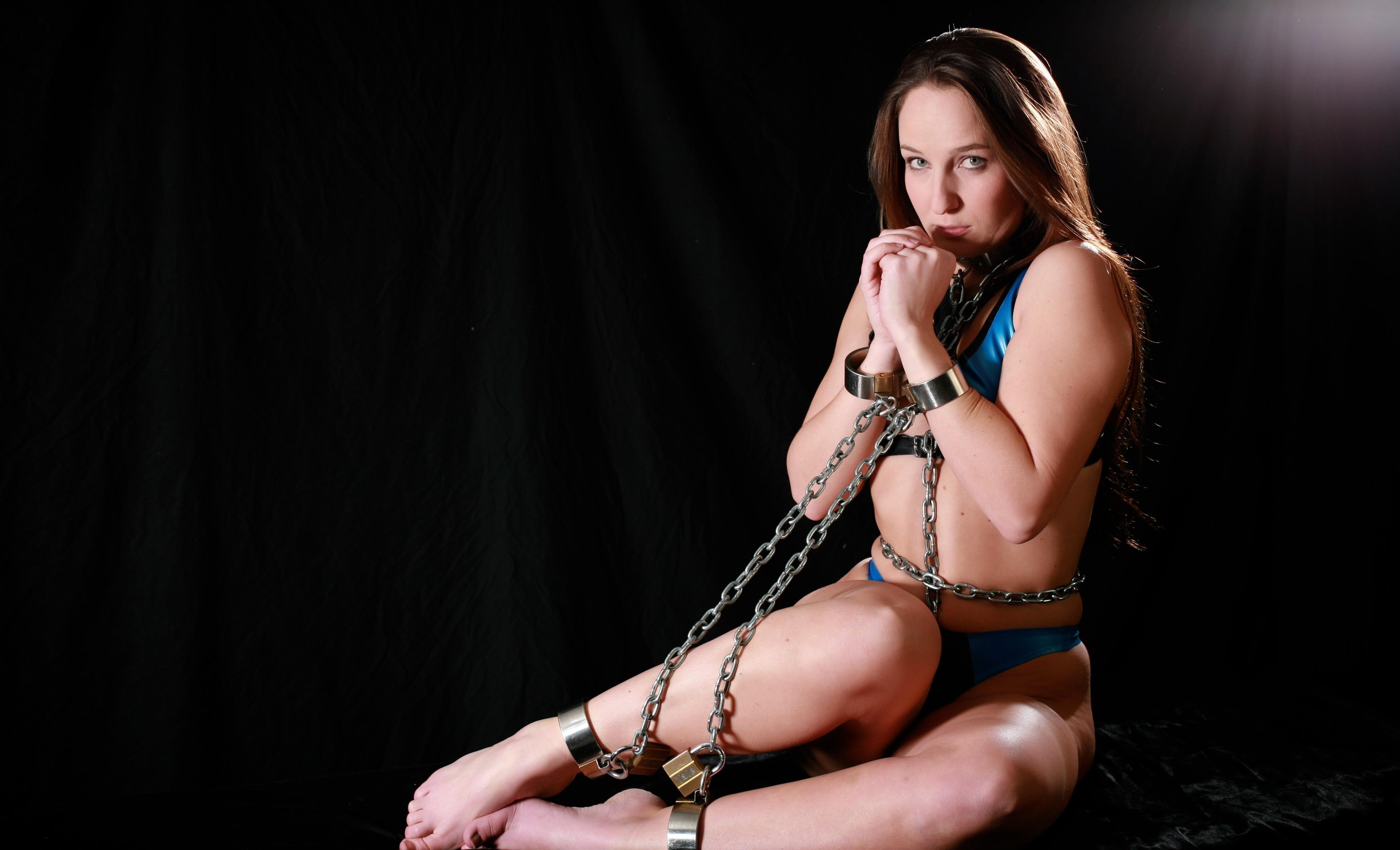 Women in bondage wallpaper
